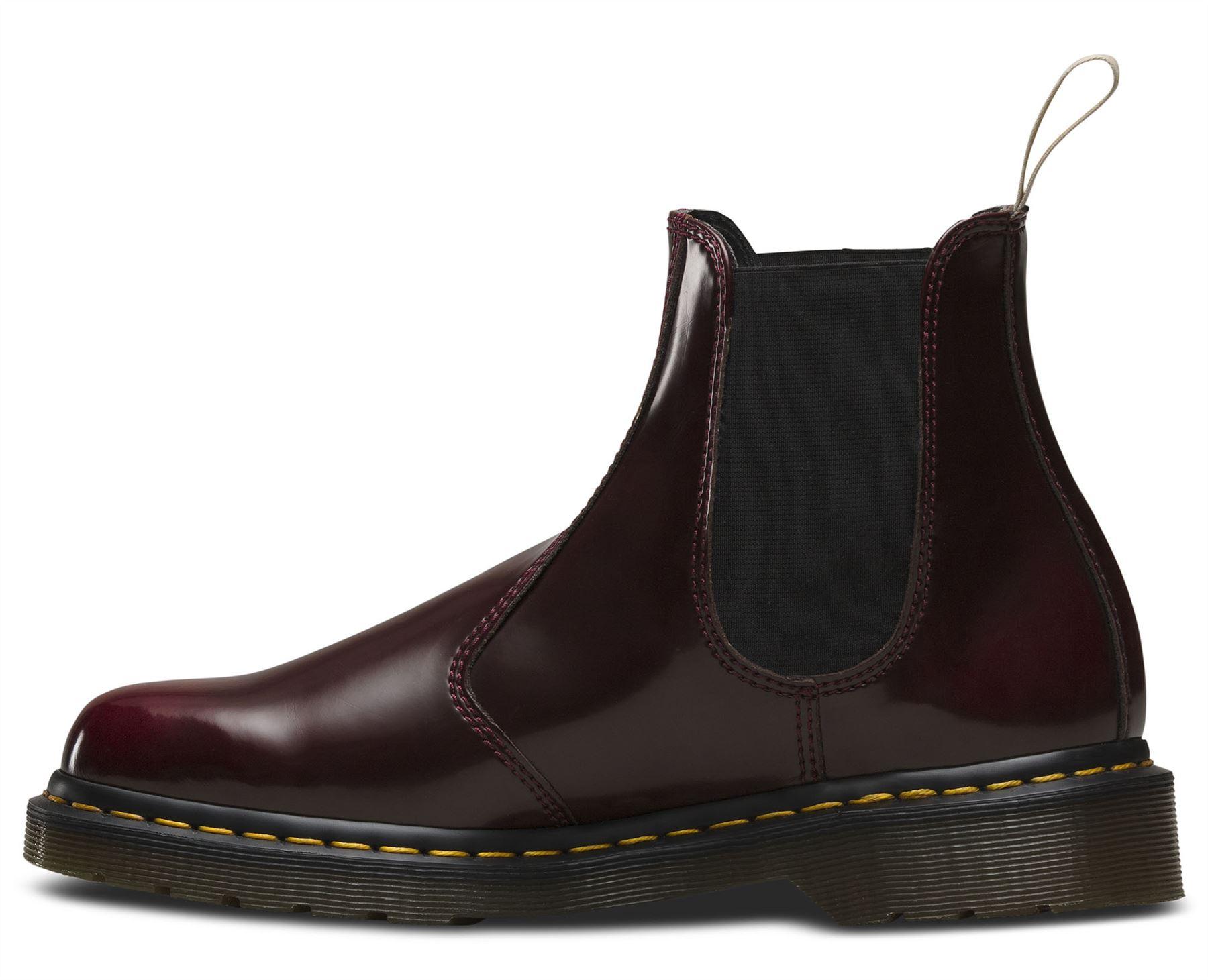 dr martens unisex adult 2976 vegan vegetarian chelsea dealer ankle boots. Black Bedroom Furniture Sets. Home Design Ideas