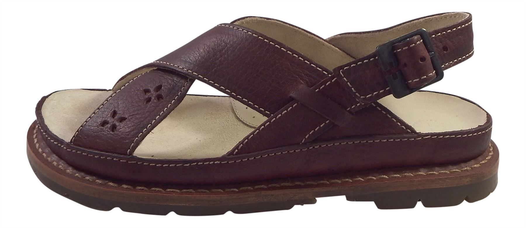Dr Martens Ladies Shila Grizzly Leather Fisherman Style Style Style Strap Sandals f4d3f3