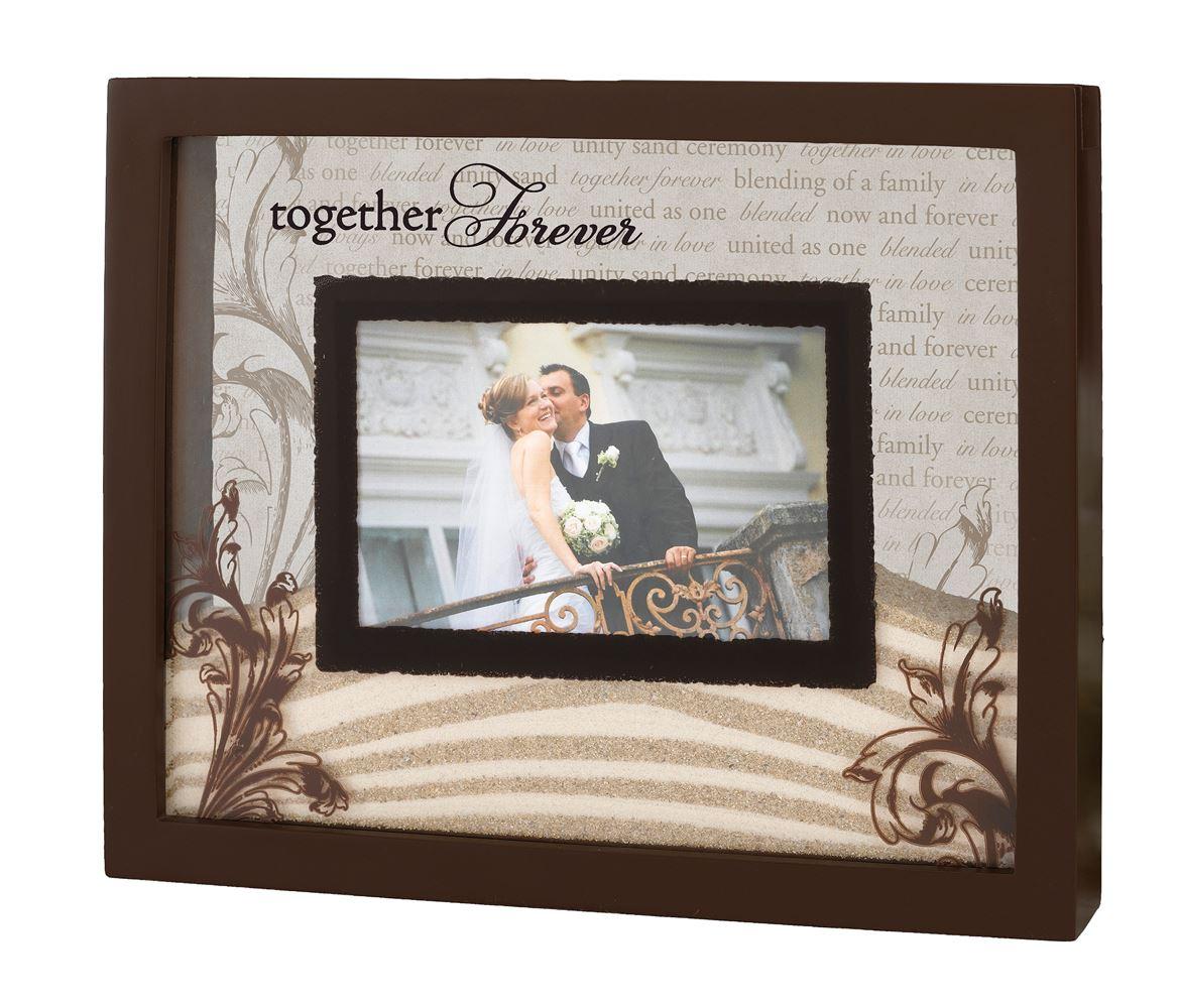 Ceremonia de la boda del marco de fotos arena de la unidad | eBay