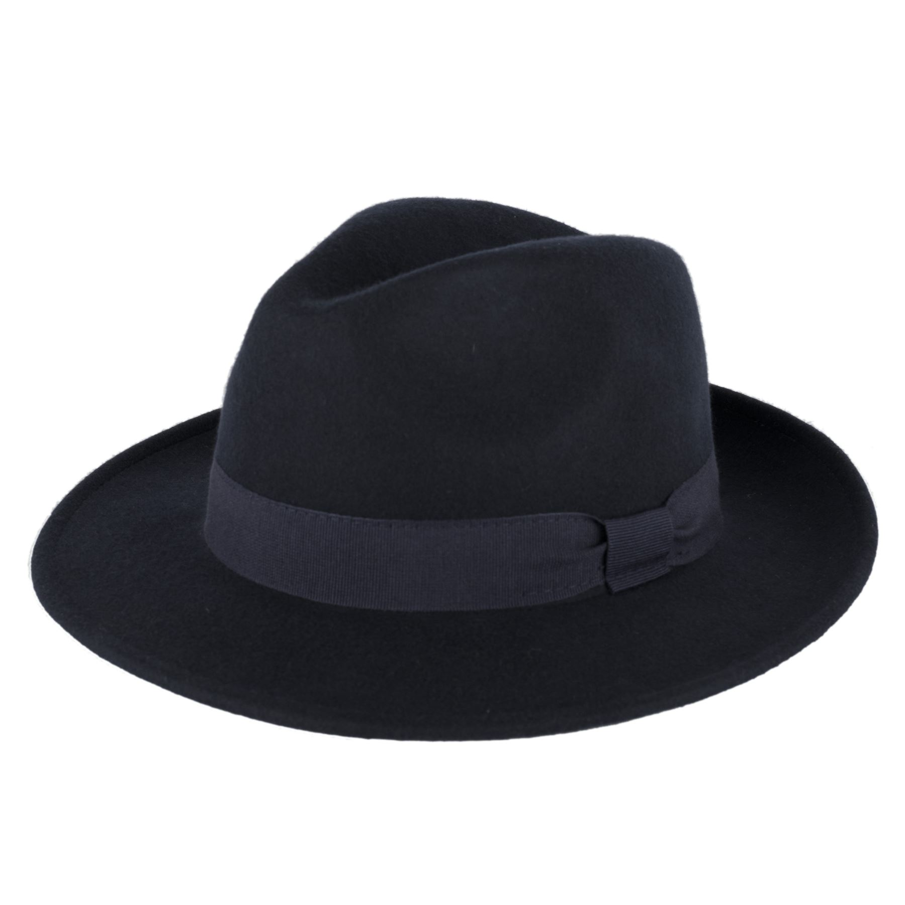 Mens Ladies 100 Wool Handmade in Italy Waterproof Trilby Fedora Hat ... 438e59f3b7f8