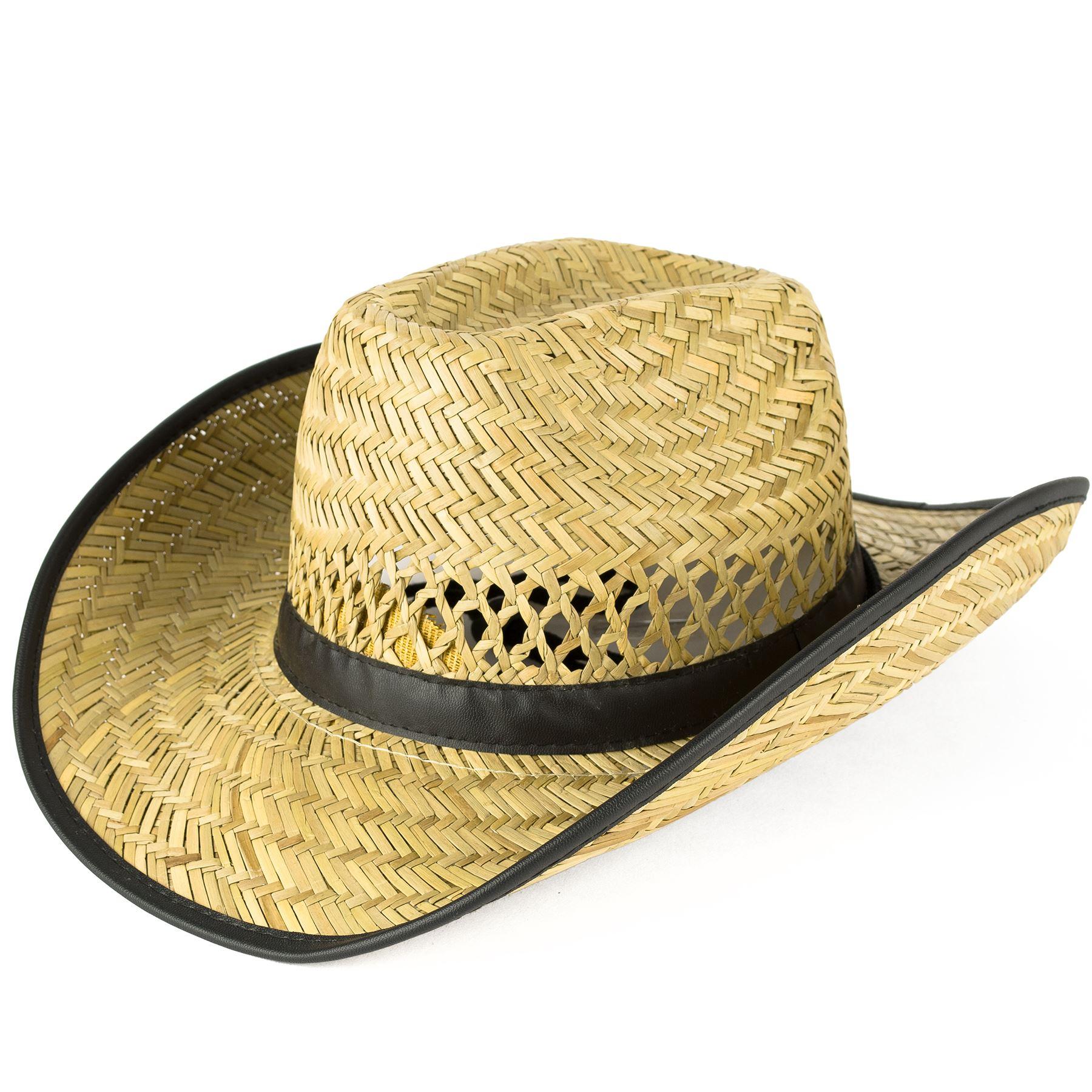 hommes femmes chapeau cowboy ebay. Black Bedroom Furniture Sets. Home Design Ideas