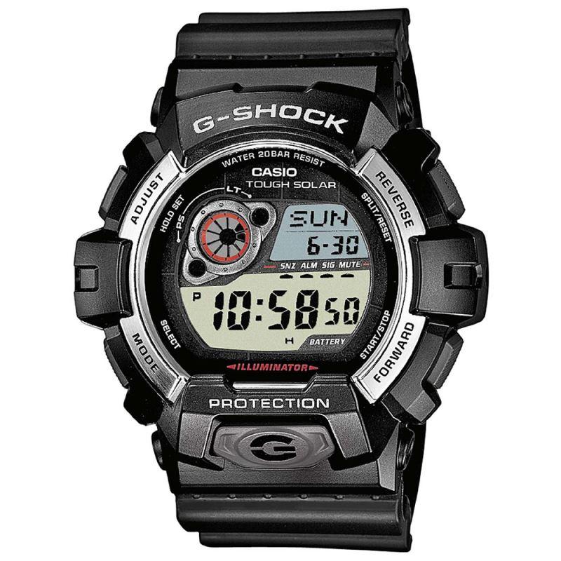casio gr8900 1er herren g shock tough solar lcd armbanduhr. Black Bedroom Furniture Sets. Home Design Ideas