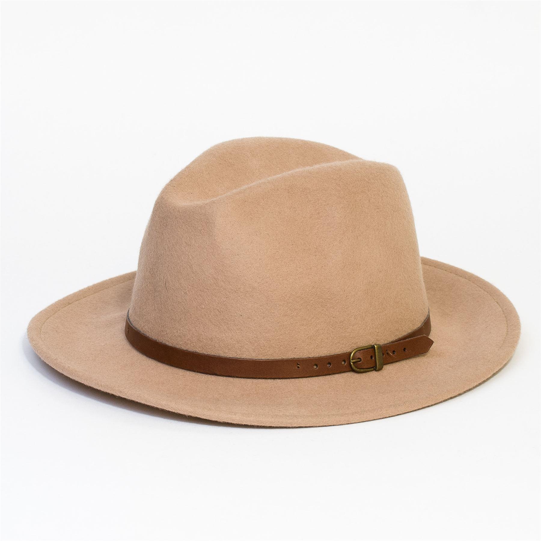 Sombrero-Fedora-de-Fieltro-Gorra