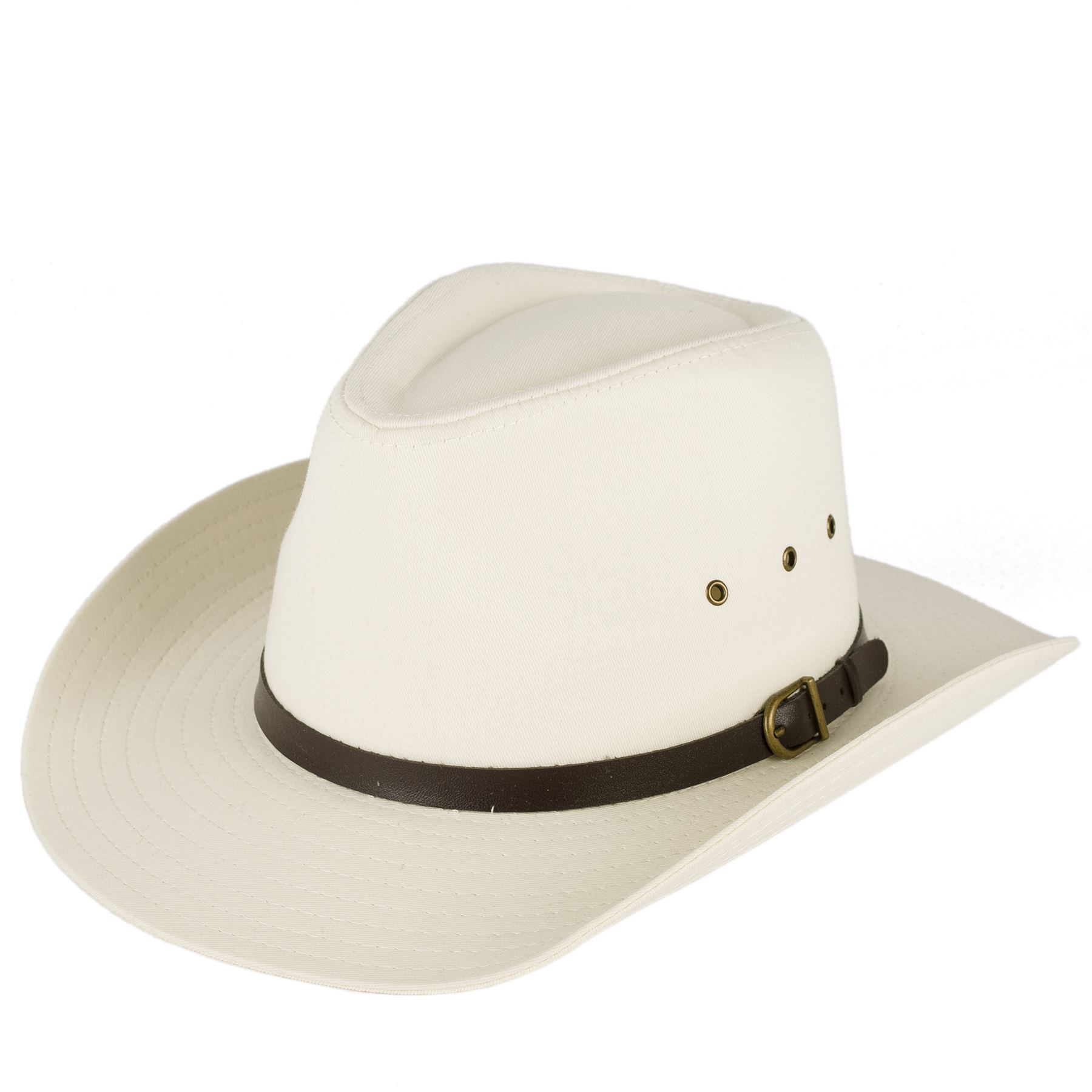 Buckle Hats: Men's Ladies Plain Stetson Style Cowboy Hat With Belt With