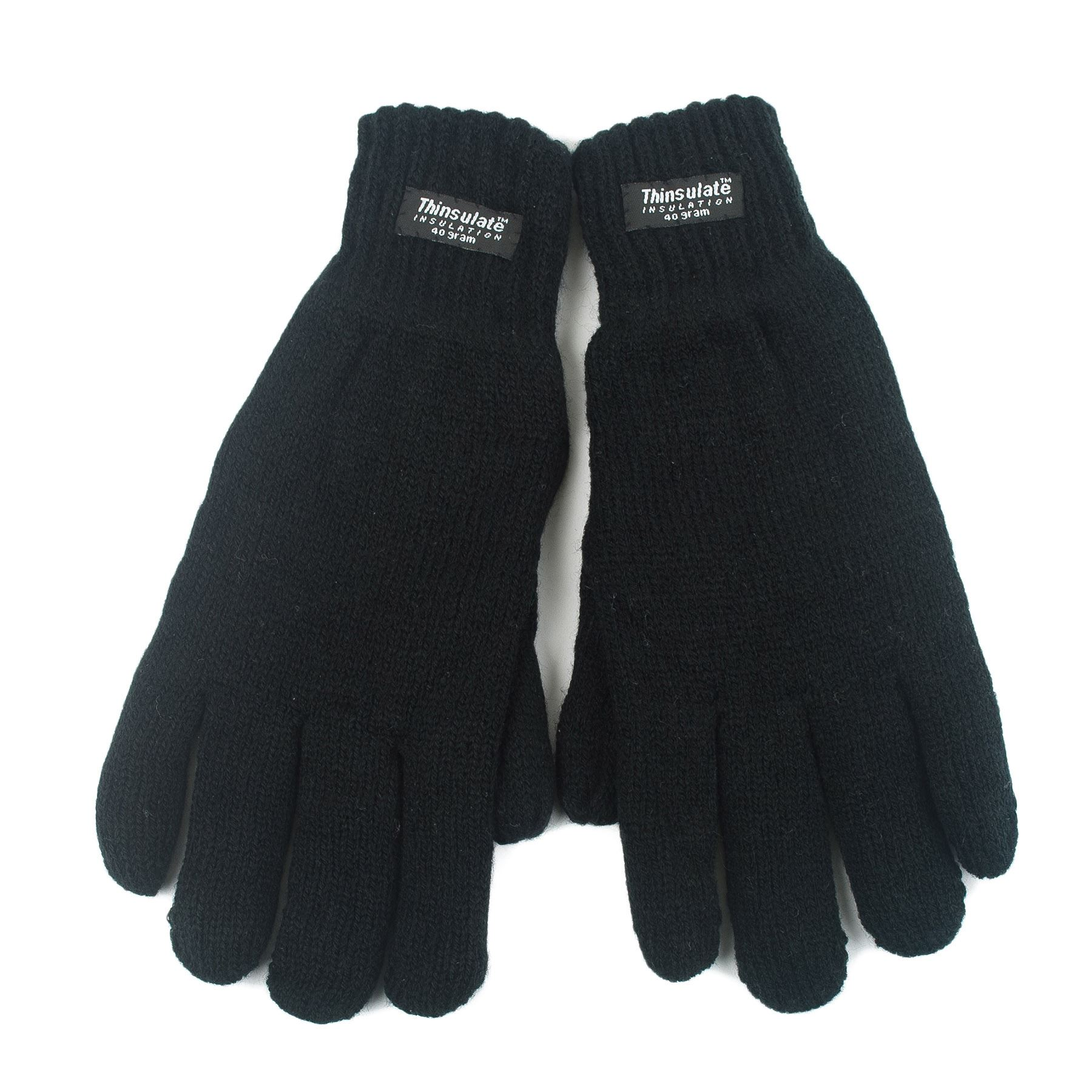 Ladies leather gloves with thinsulate - Ladies Winter Gloves Plain Thinsulate Insulation