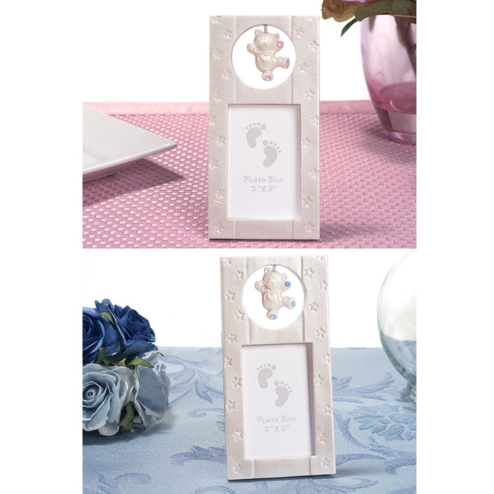3 Vertical Bear Picture Photo Frame 2 X 3 Baby Showers Christening