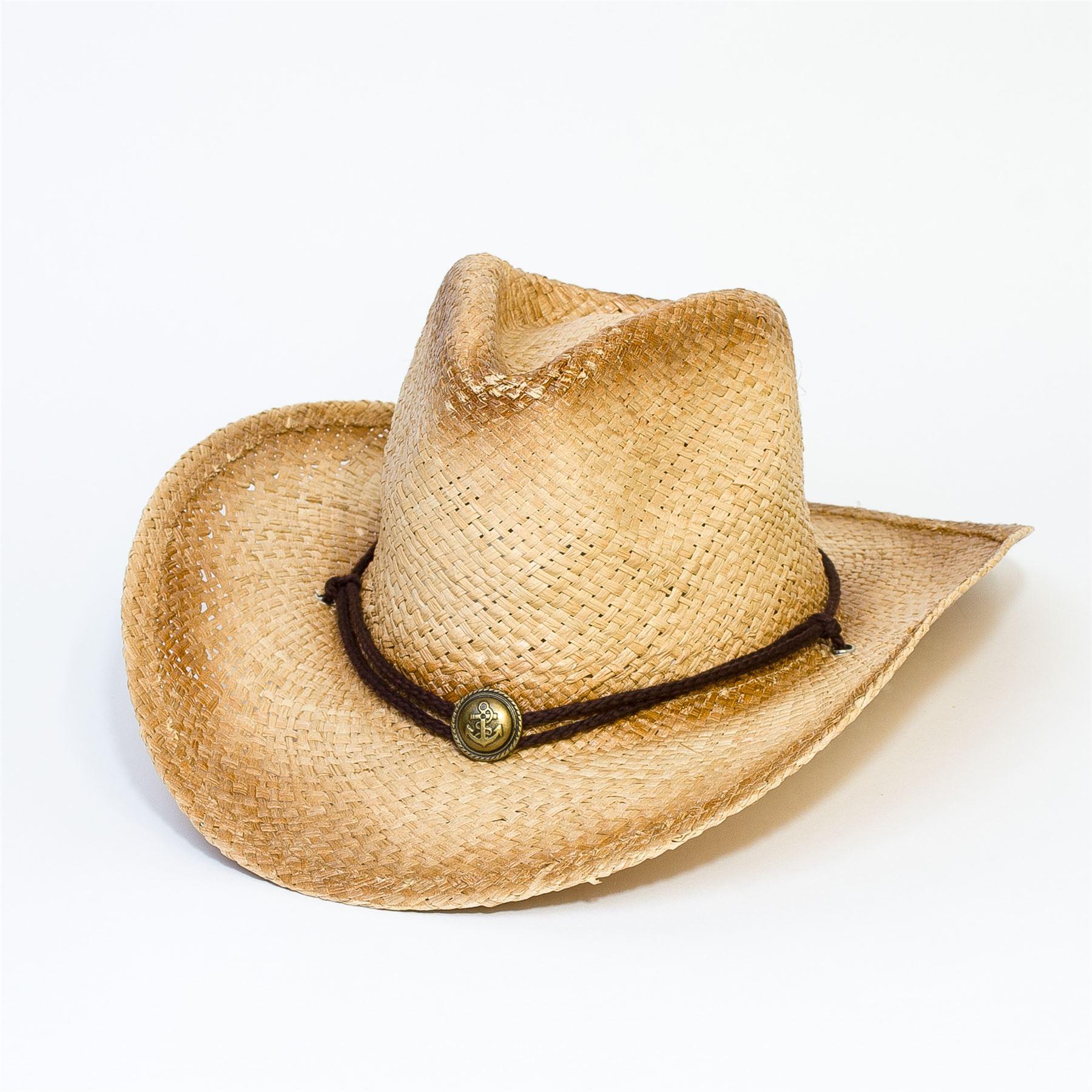 Donna-Uomo-Cappello-da-Cowboy-Western-Cowgirl