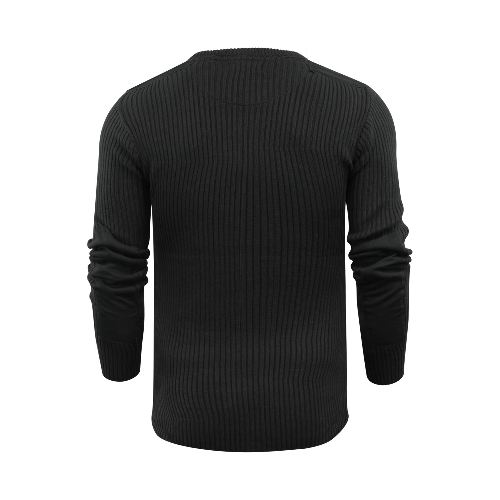 Mens-Jumper-Brave-Soul-Knitted-Sweater-In-Various-Styles thumbnail 83