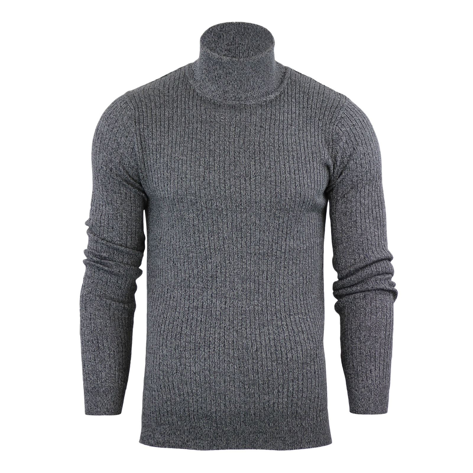 Mens-Jumper-Brave-Soul-Knitted-Sweater-In-Various-Styles thumbnail 116