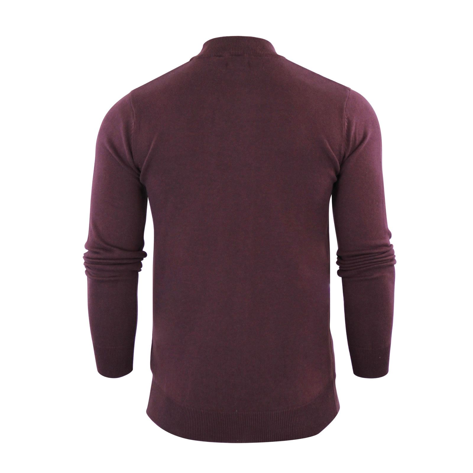 Mens-Jumper-Brave-Soul-Turtle-Neck-Cotton-Pull-Over-Sweater thumbnail 15