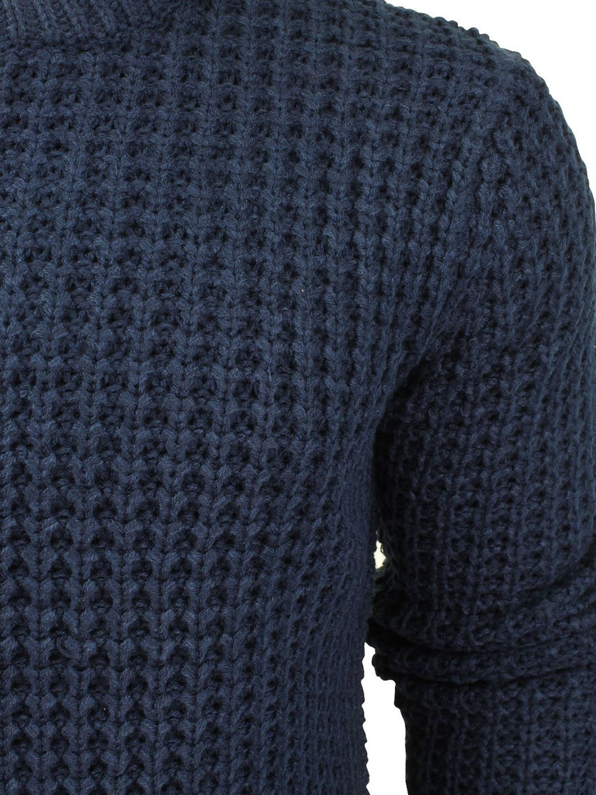 Mens-Jumper-Brave-Soul-Knitted-Sweater-In-Various-Styles thumbnail 23