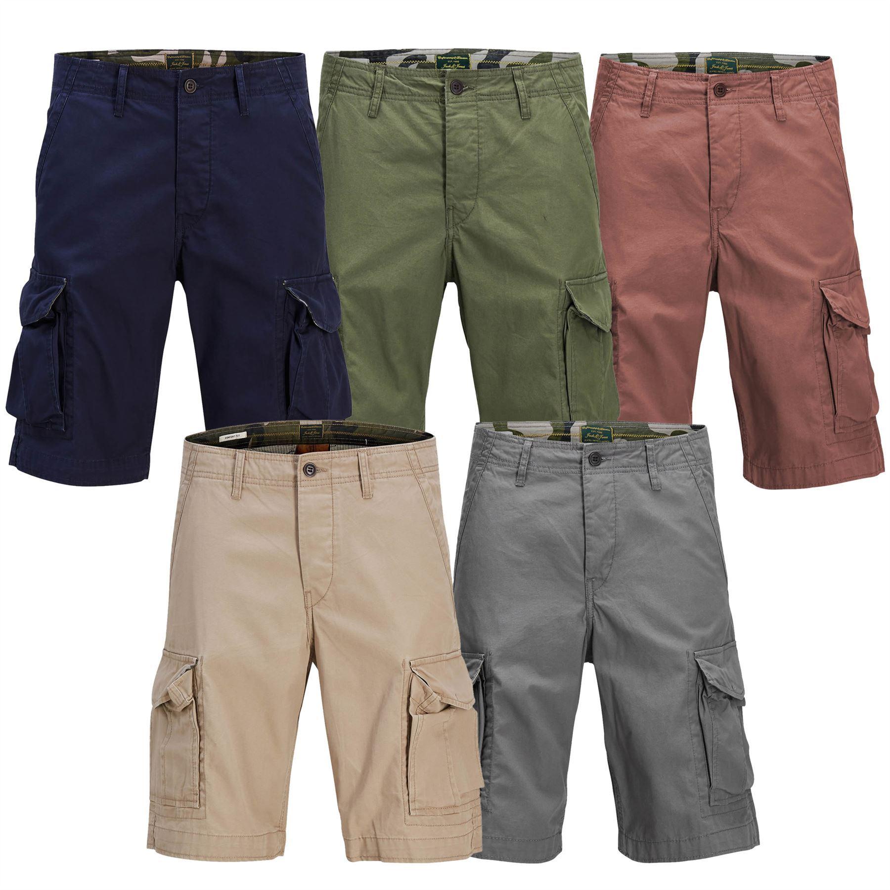 goditi il prezzo più basso arte squisita la più grande selezione di JACK & JONES PRESTON CARGO Pantaloncini Da Uomo Stile Militare ...