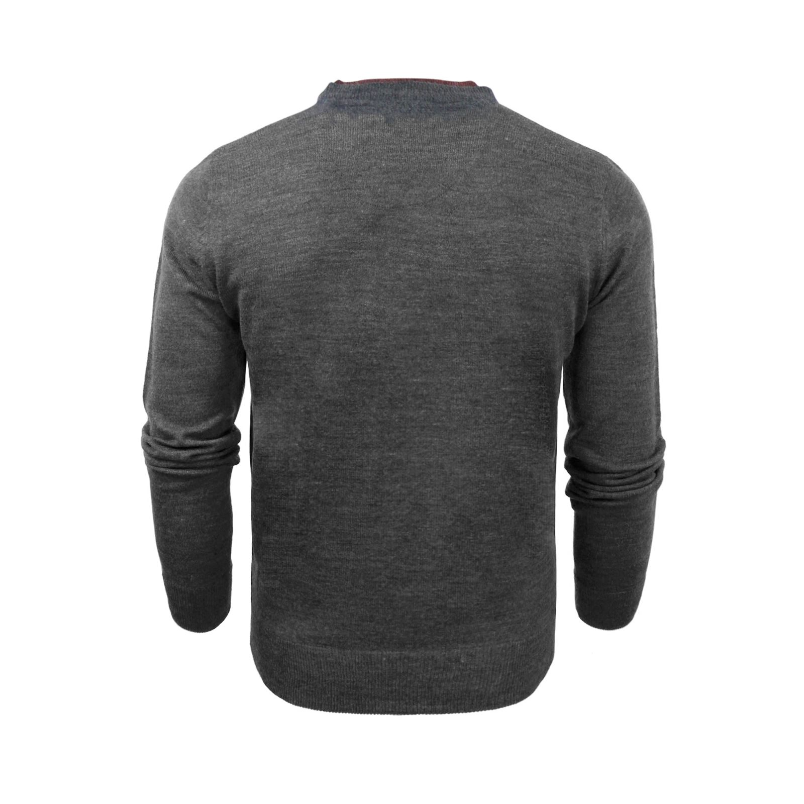 Mens-Jumper-Brave-Soul-Knitted-Sweater-In-Various-Styles thumbnail 3