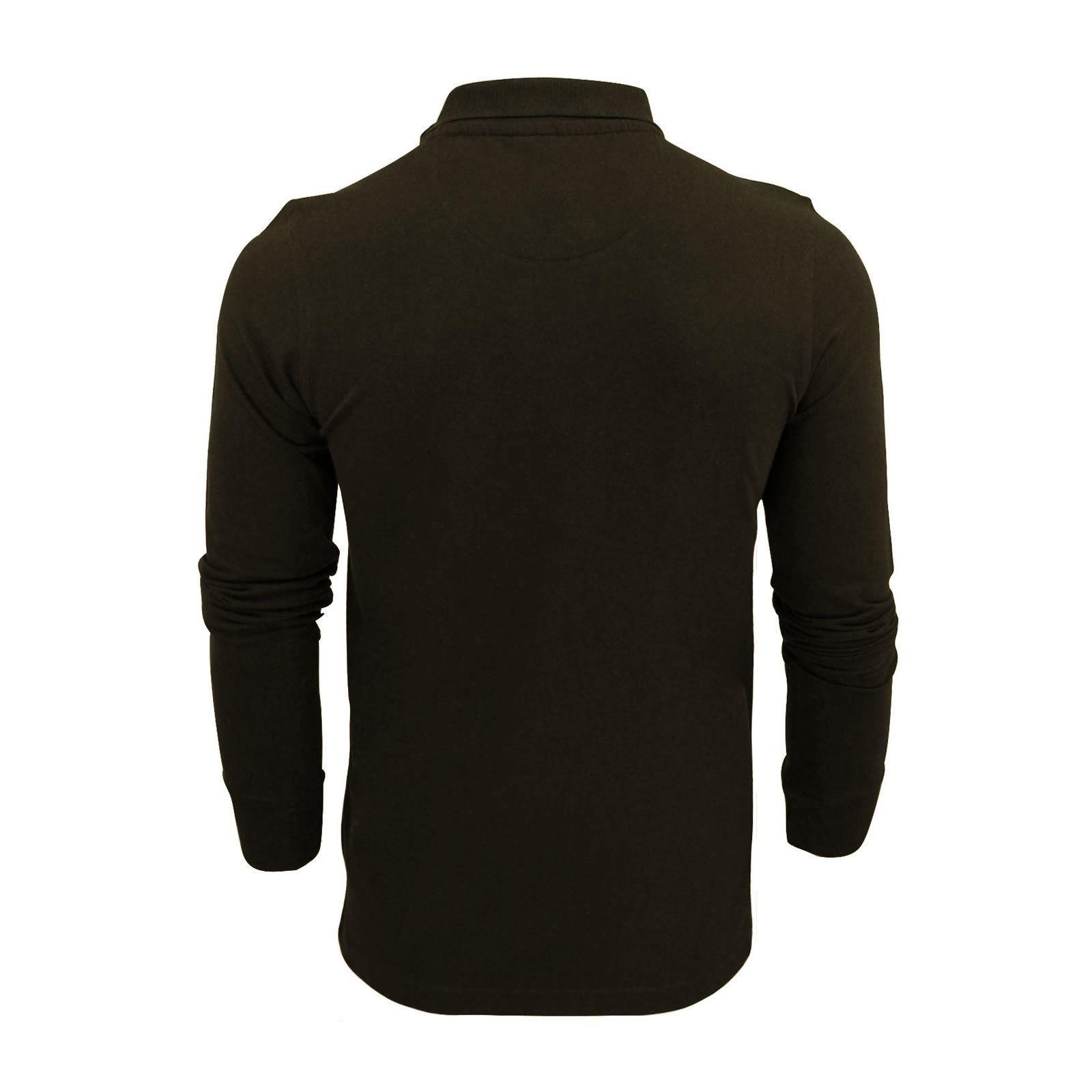 Brave-Soul-Polo-Homme-a-Manches-Longues-A-Col-Haut-Dans-Divers-Styles miniature 37
