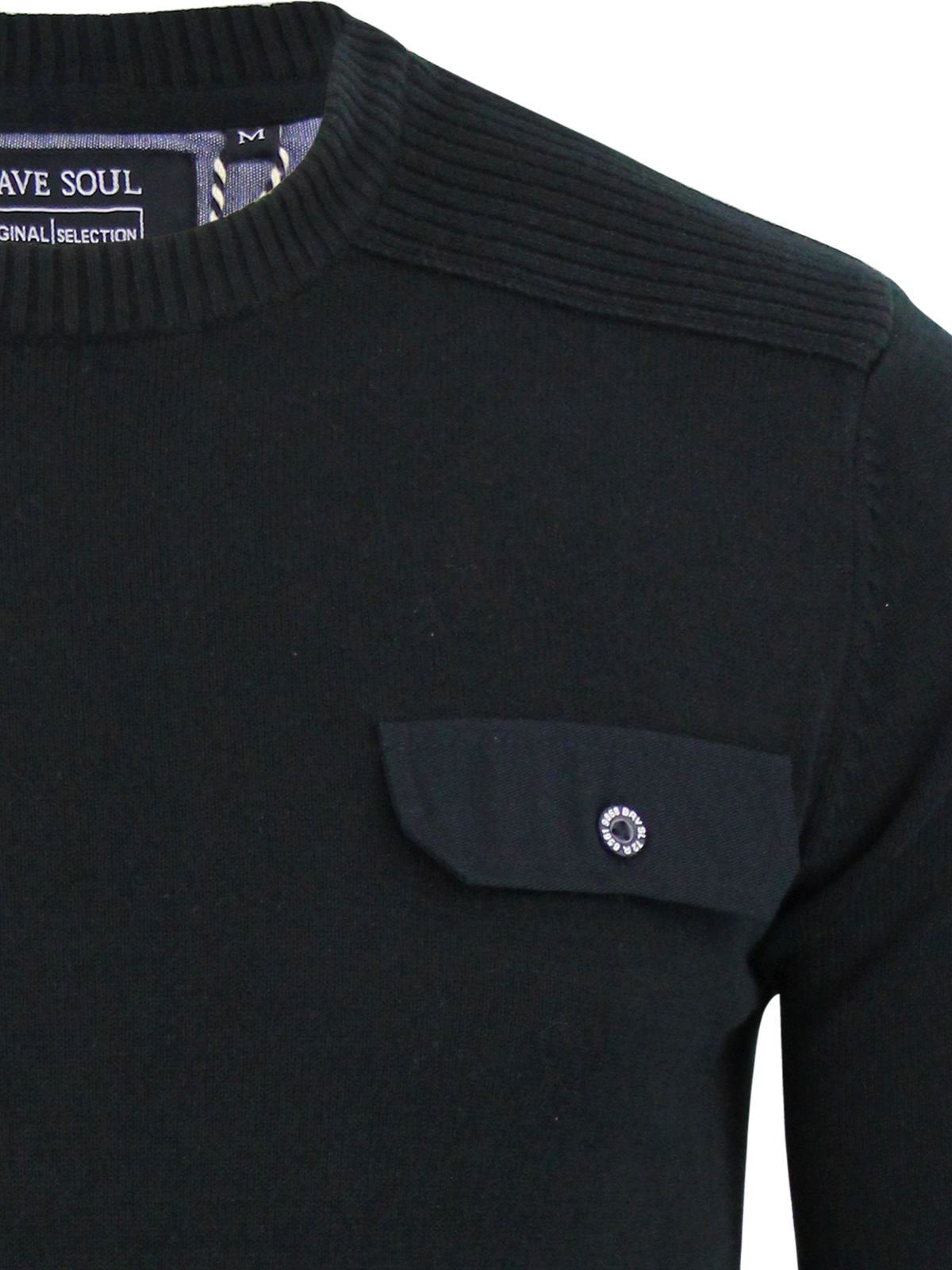 miniature 75 - Pull-Homme-Brave-Soul-Divers-Sweater