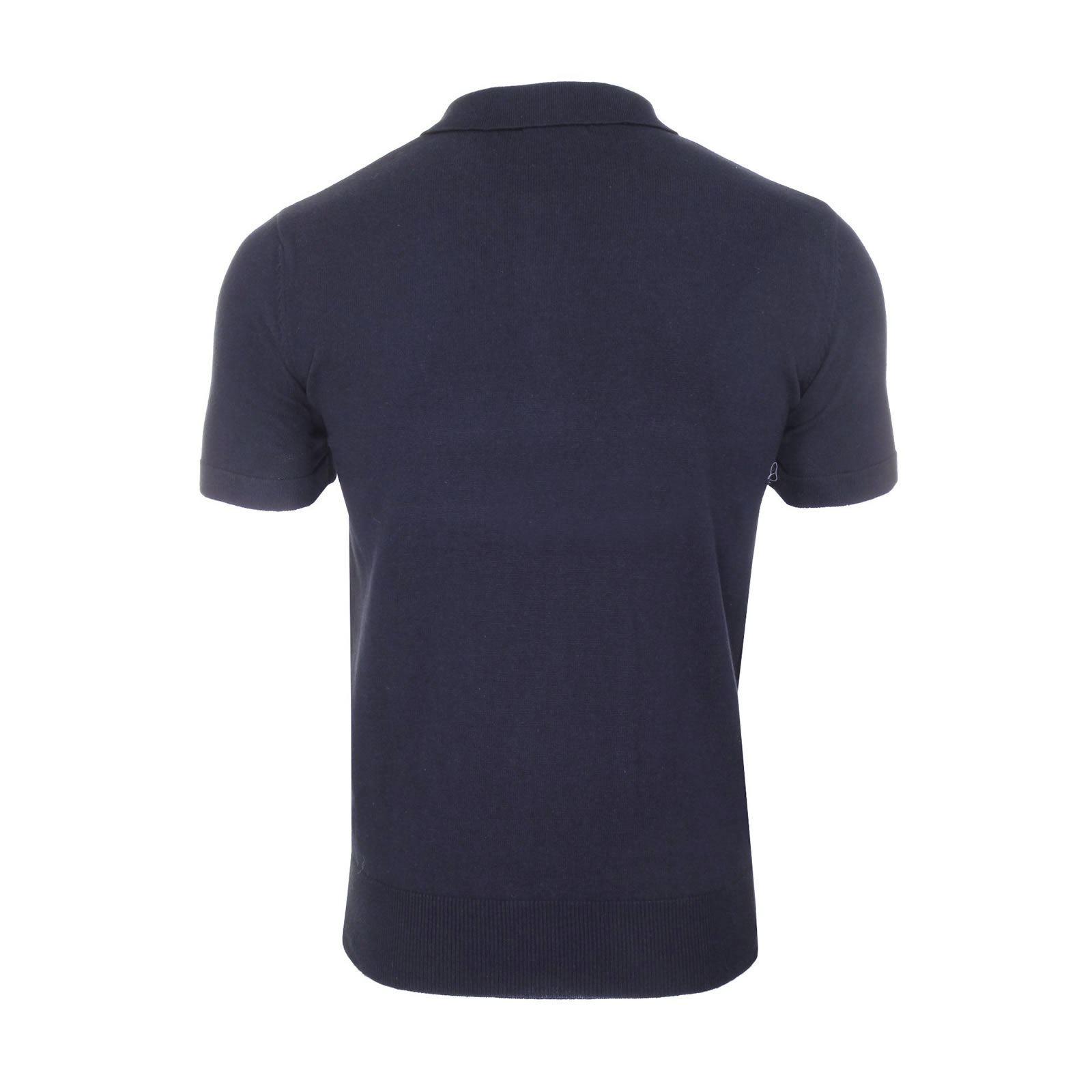 Mens-Knitted-Polo-Brave-Soul-Columbus-Collared-Short-Sleeve-Jumper-T-Shirt thumbnail 13