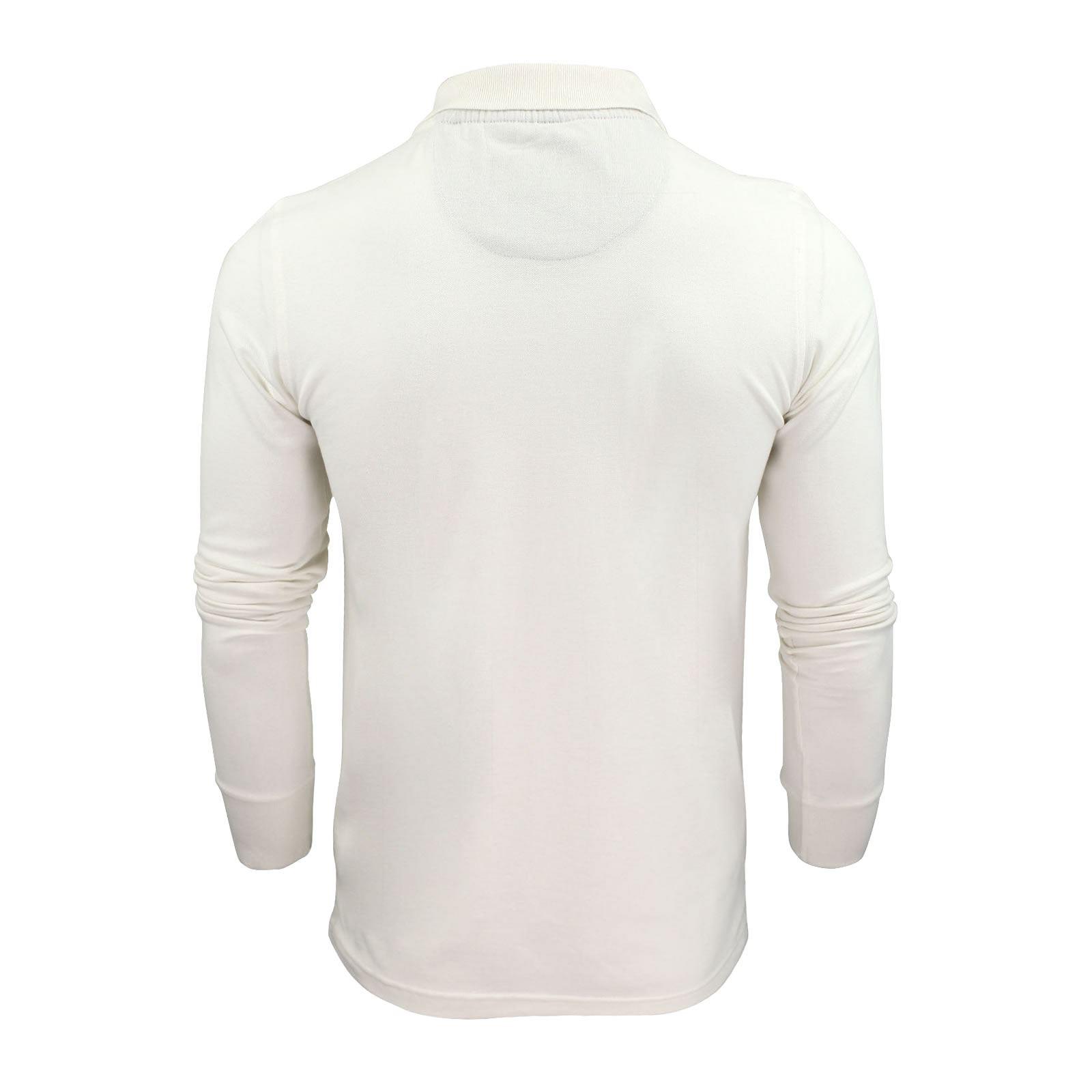 Brave-Soul-Polo-Homme-a-Manches-Longues-A-Col-Haut-Dans-Divers-Styles miniature 29