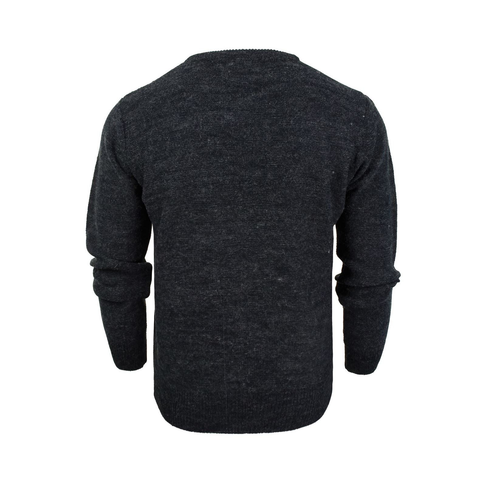 Mens-Jumper-Brave-Soul-Bayard-Wool-Mix-Crew-Neck-Knitted-Sweater thumbnail 7