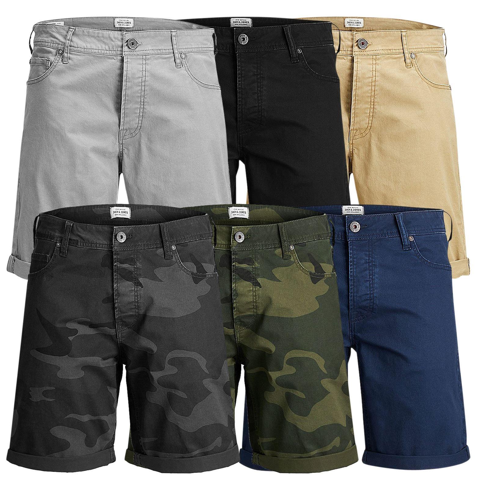 fashion style prezzo favorevole stile attraente JACK & Jones Rick Pantaloncini Da Uomo Oxford Cotone Twill Roll Up ...