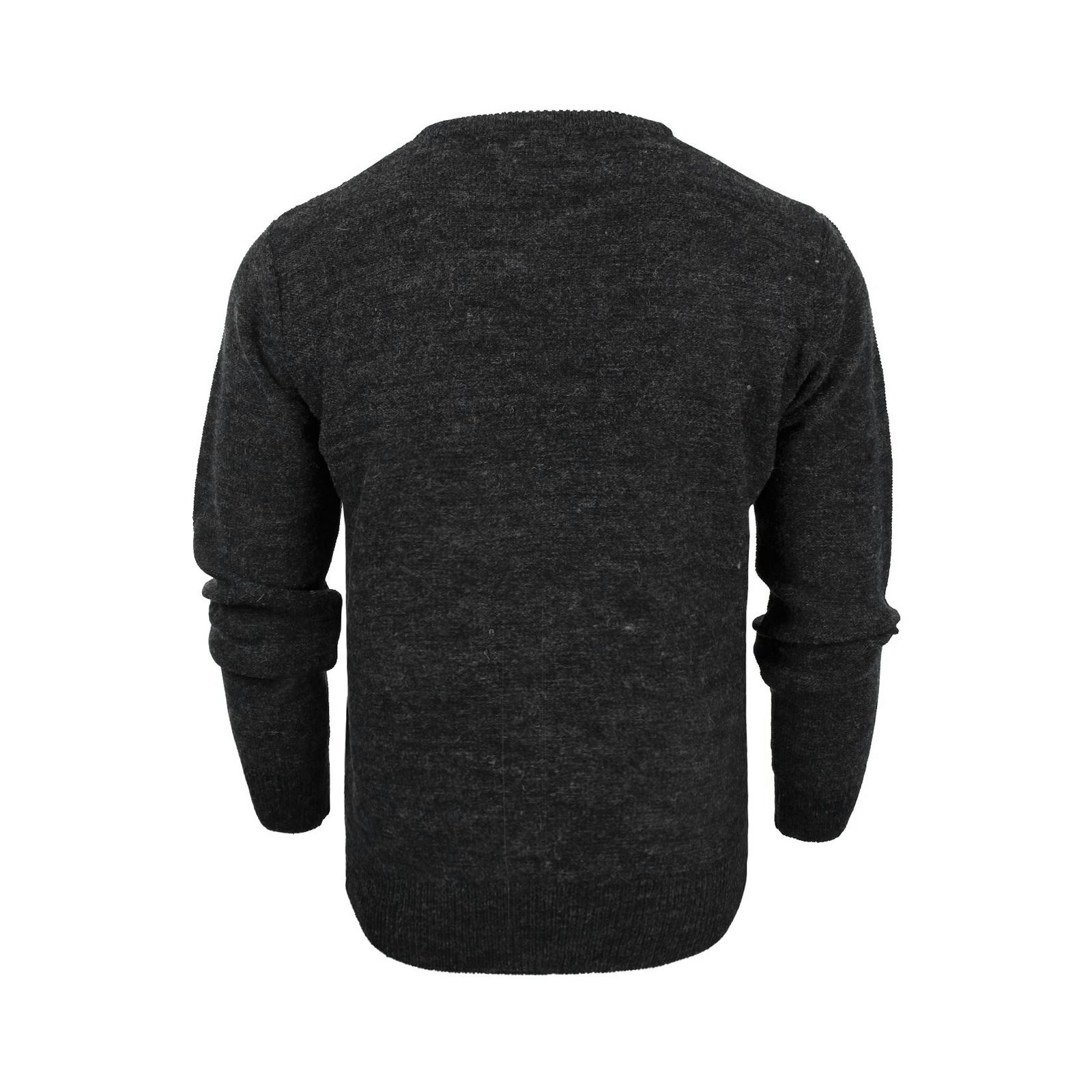 Mens-Jumper-Brave-Soul-Bayard-Wool-Mix-Crew-Neck-Knitted-Sweater thumbnail 5