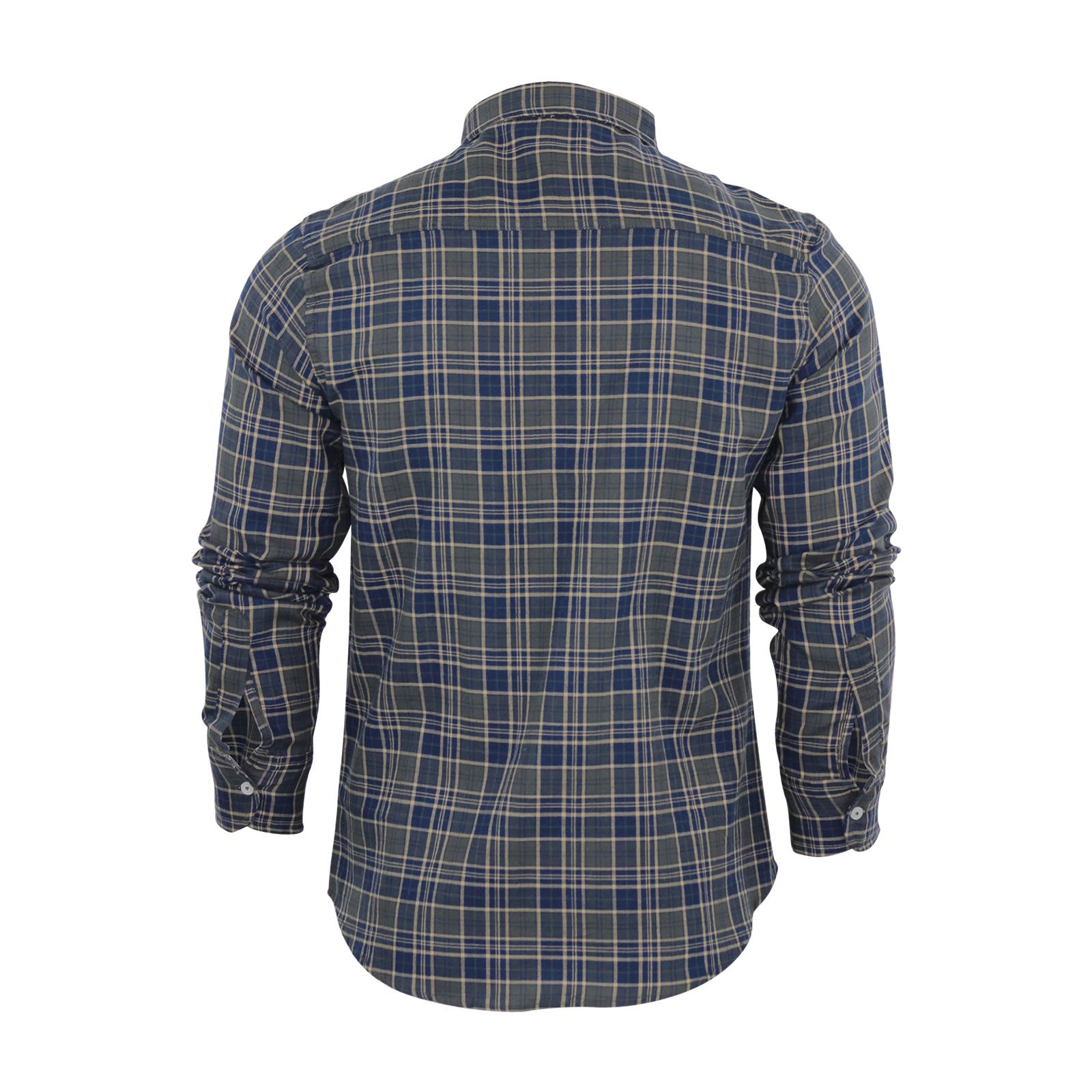 Mens-Check-Shirt-Brave-Soul-Flannel-Brushed-Cotton-Long-Sleeve-Casual-Top thumbnail 63