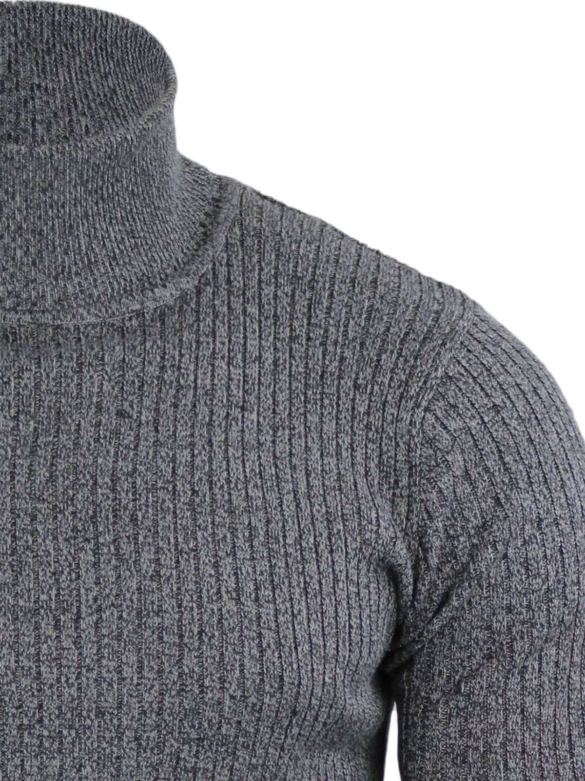 Mens-Jumper-Brave-Soul-Knitted-Sweater-In-Various-Styles thumbnail 115