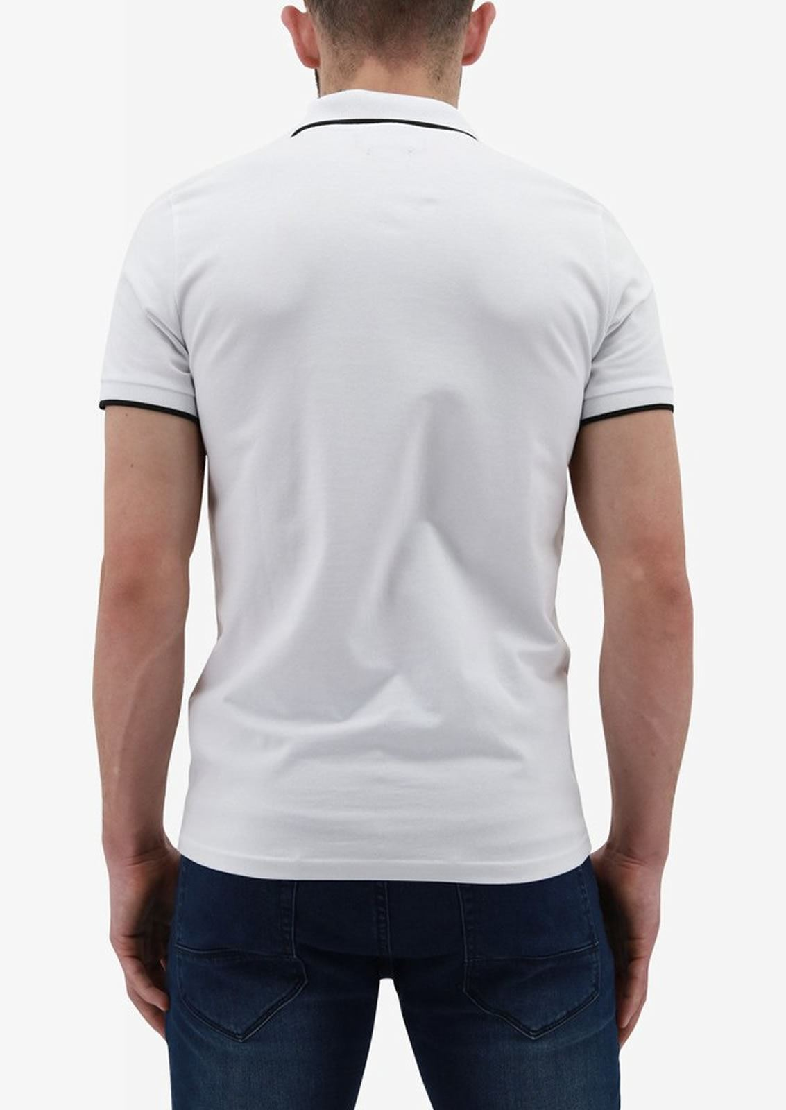 Ne-riche-par-l-039-argent-vetements-Iolite-Homme-Polo-T-Shirt-Cloute-Col-Haut-Decontracte miniature 9