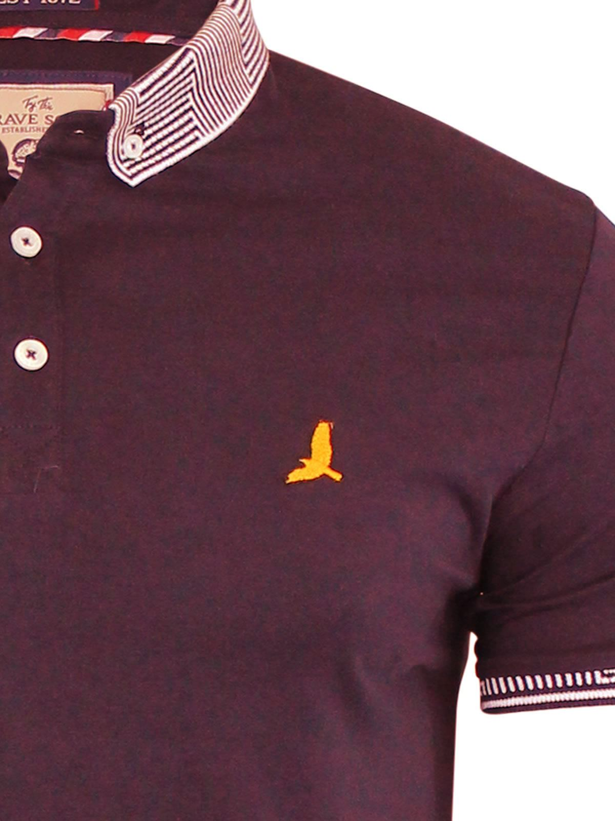 Brave-Soul-Glover-Mens-Polo-T-Shirt-Cotton-Collared-Short-Sleeve-Casual-Top thumbnail 37