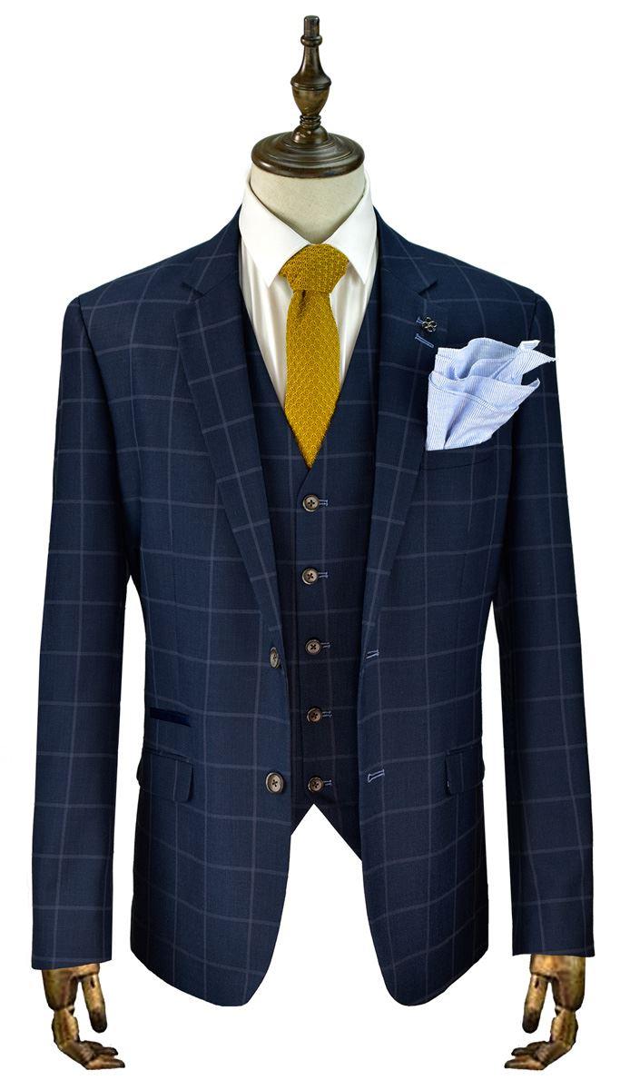 Mens Suits Cavani Macy 3Pcs Wedding Party Suit Trouser / Blazer ...
