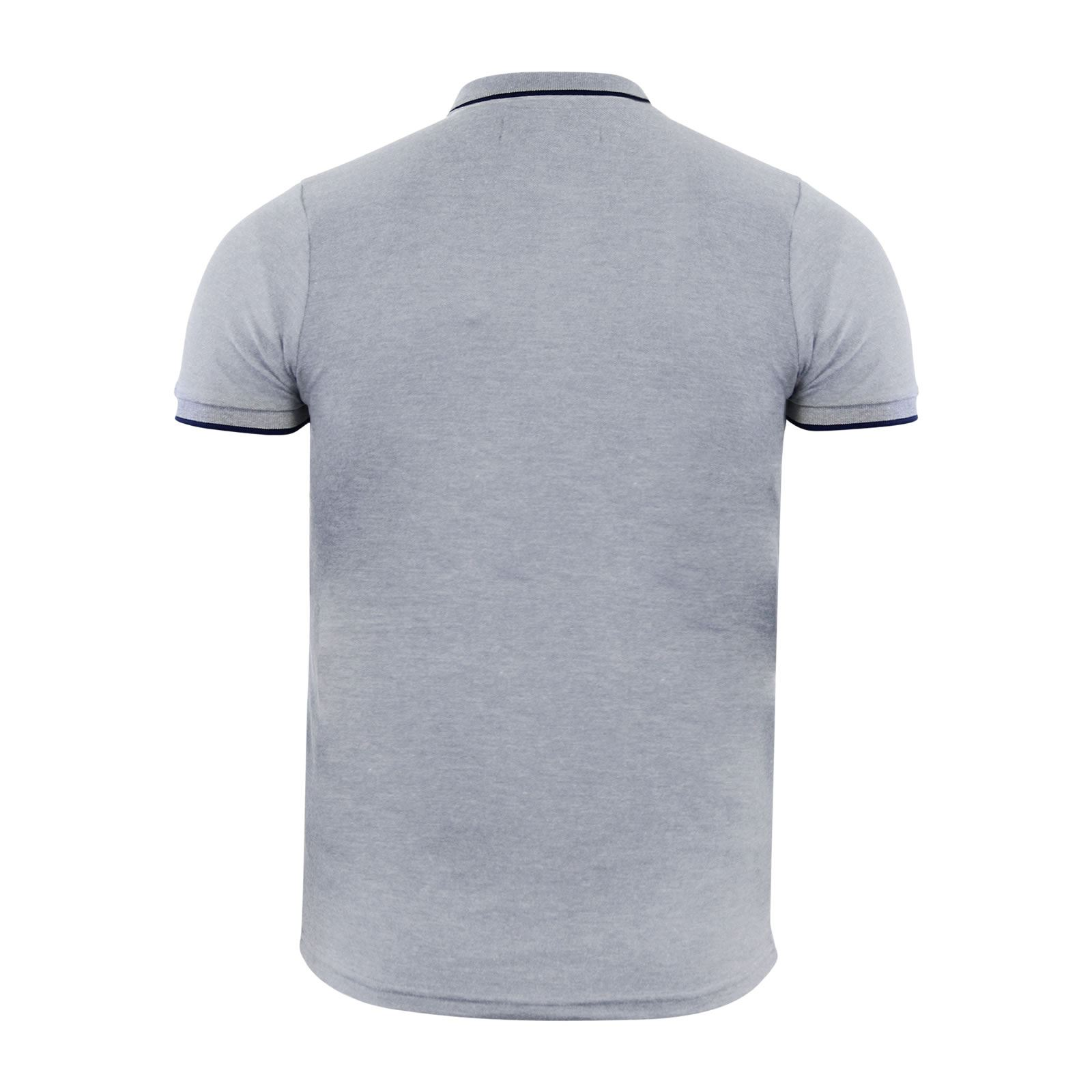 Crosshatch-Mens-Polo-T-Shirt-Pique-Polo-Cotton-Collared-Short-Sleeve-T-Shirt thumbnail 81