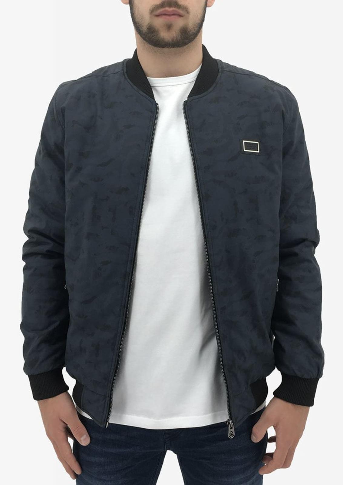 Mens-Jacket-Born-Rich-By-Money-Clothing-Gallium-MA1-Camo-Bomber-Coat