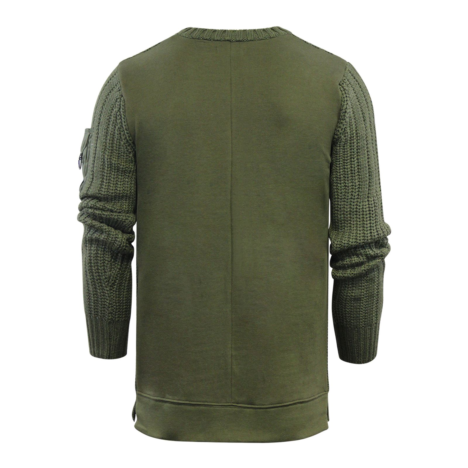 Mens-Jumper-Brave-Soul-Knitted-Sweater-In-Various-Styles thumbnail 69