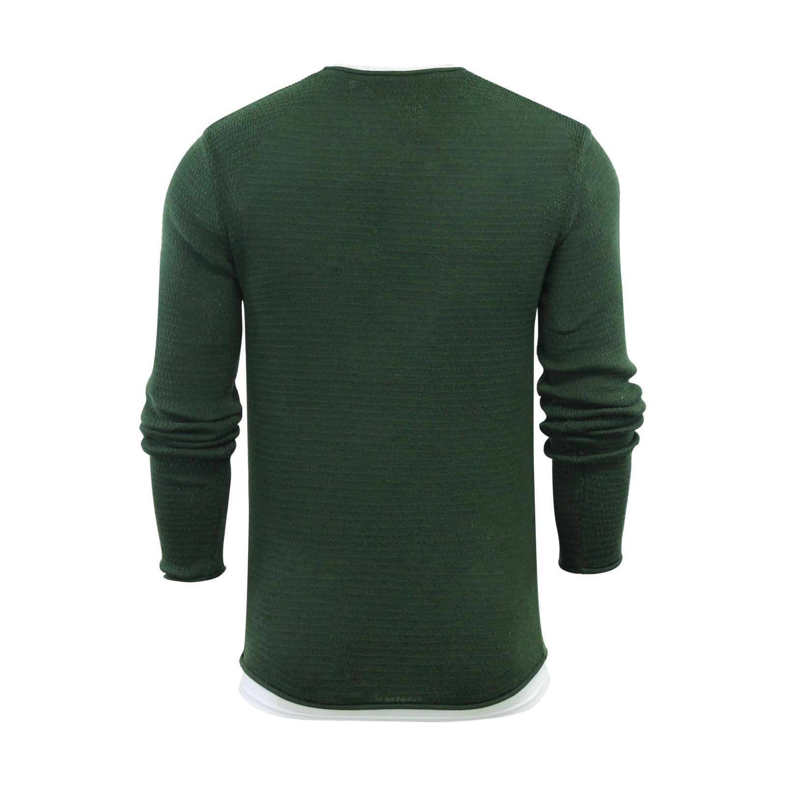 Mens-Jumper-Brave-Soul-Knitted-Sweater-In-Various-Styles thumbnail 49