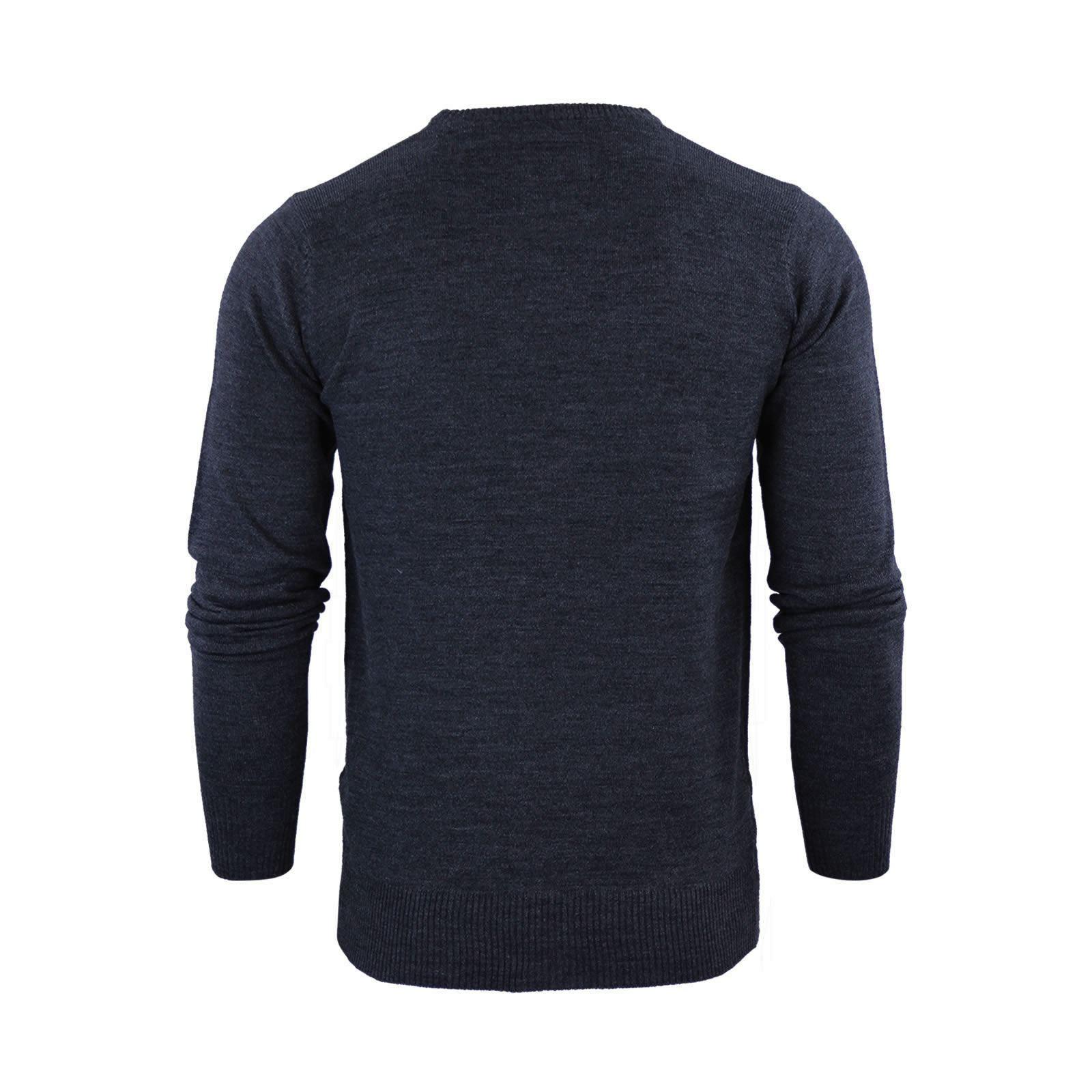 Mens-Jumper-Brave-Soul-Urbain-Knitted-Crew-Neck-Sweater thumbnail 33