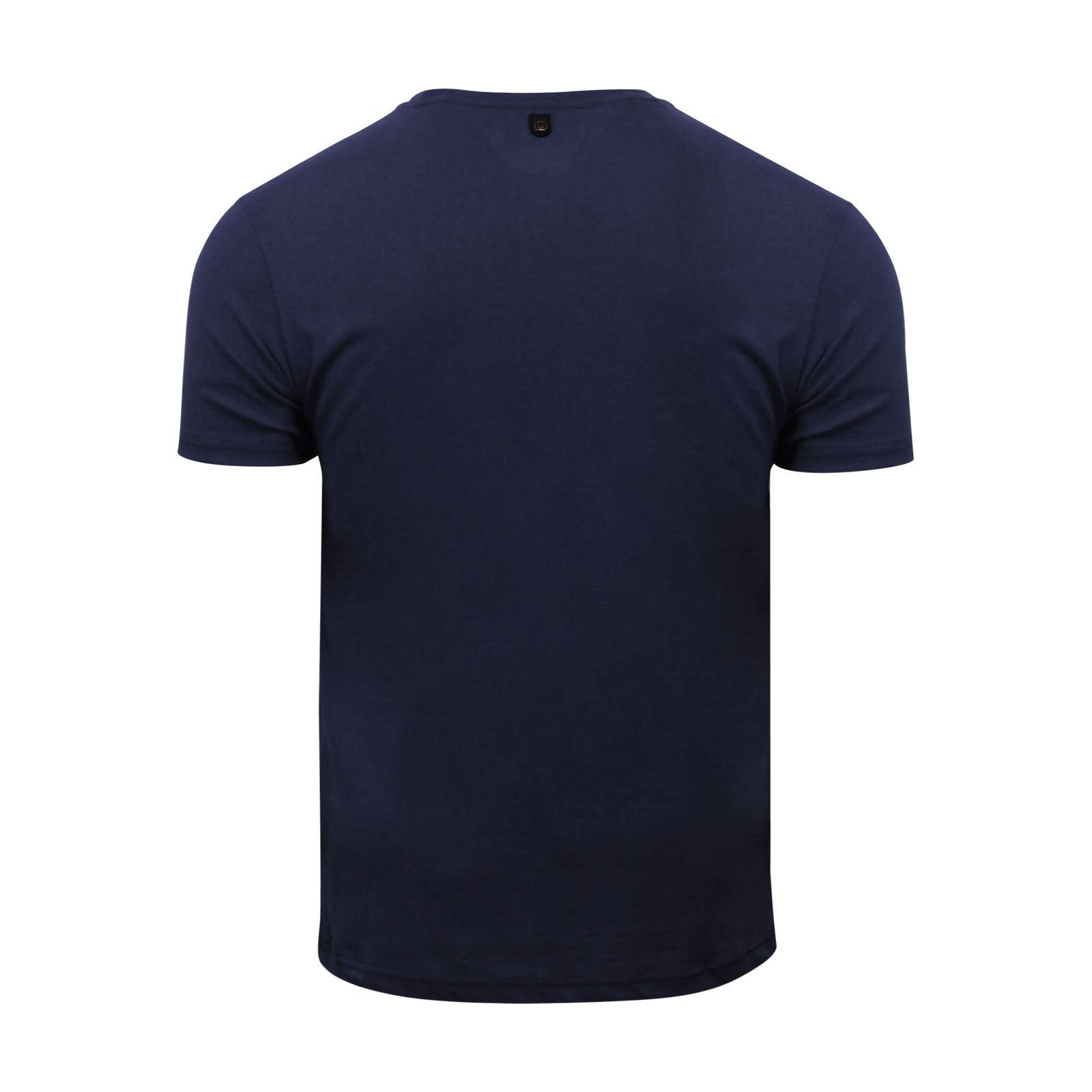 miniature 3 - Hommes-T-Shirt-Duck-amp-Cover-JEREM-a-encolure-ras-du-cou-a-manches-courtes-Graphic-Tee