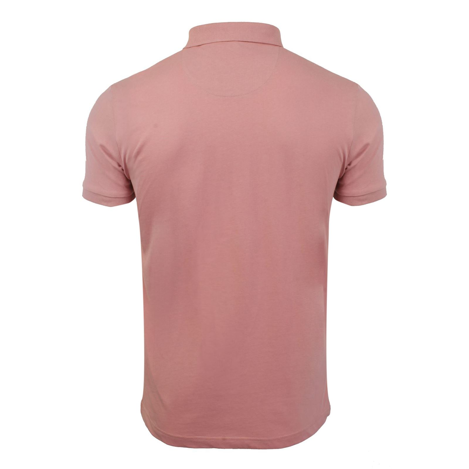 Brave-Soul-Julius-Mens-Polo-T-Shirt-Cotton-Collared-Short-Sleeve-Casual-Top miniature 27