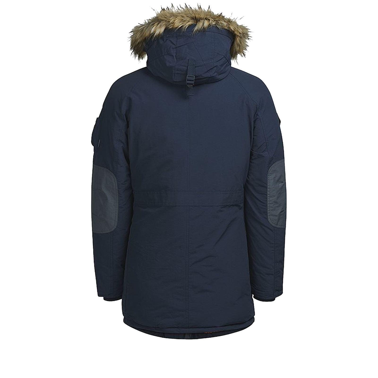 Punto sbagliato Montagna  JACK & JONES Forest Mens Parka Jacket Hooded Sherpa Linned Zip Up Coat |  eBay
