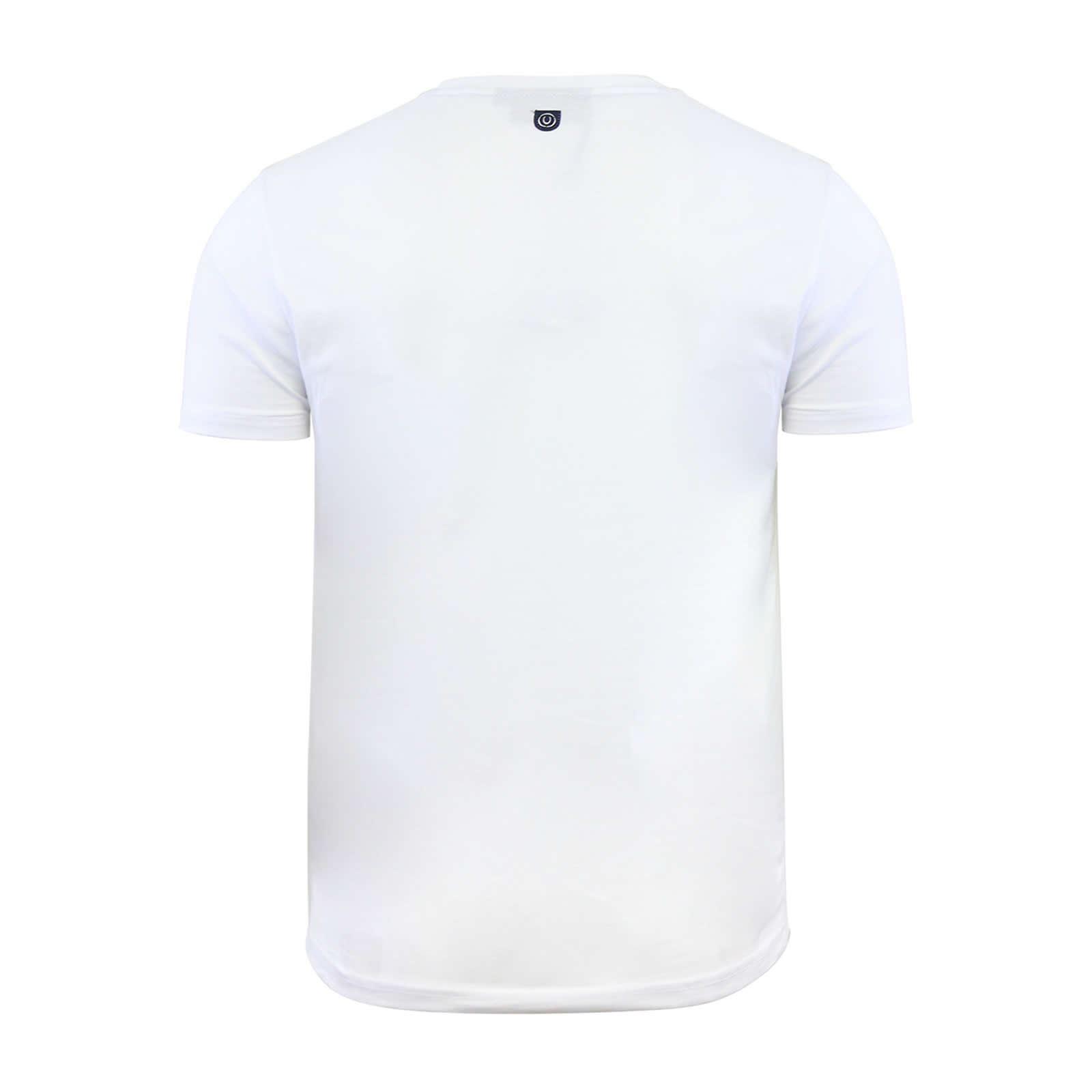 miniature 7 - Hommes-T-Shirt-Duck-amp-Cover-Quoins-coton-graphique-a-encolure-ras-du-cou-a-manches-courtes-Tee