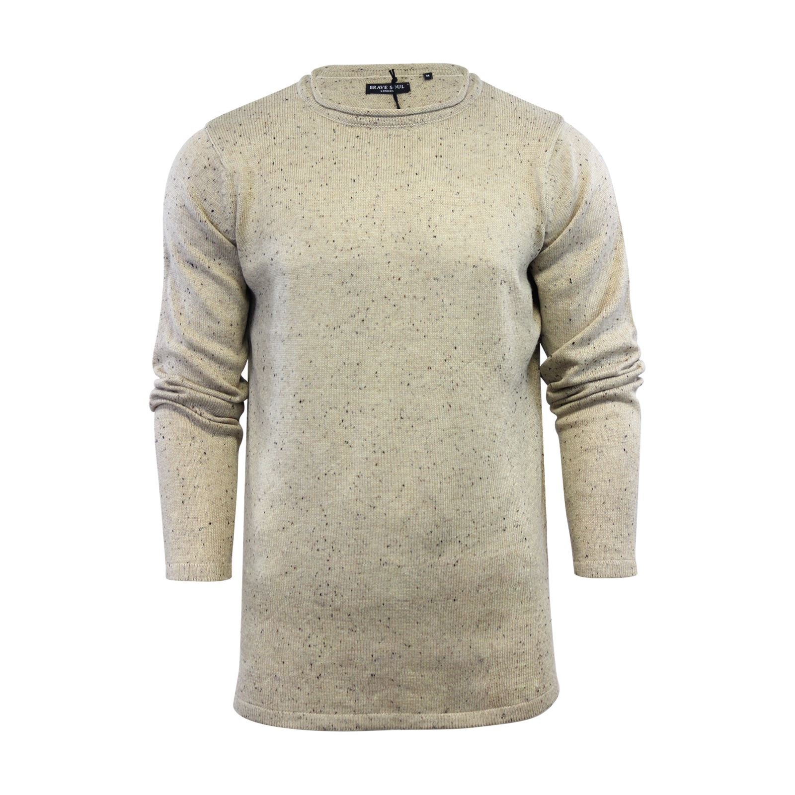 Mens-Jumper-Brave-Soul-Knitted-Sweater-In-Various-Styles thumbnail 46