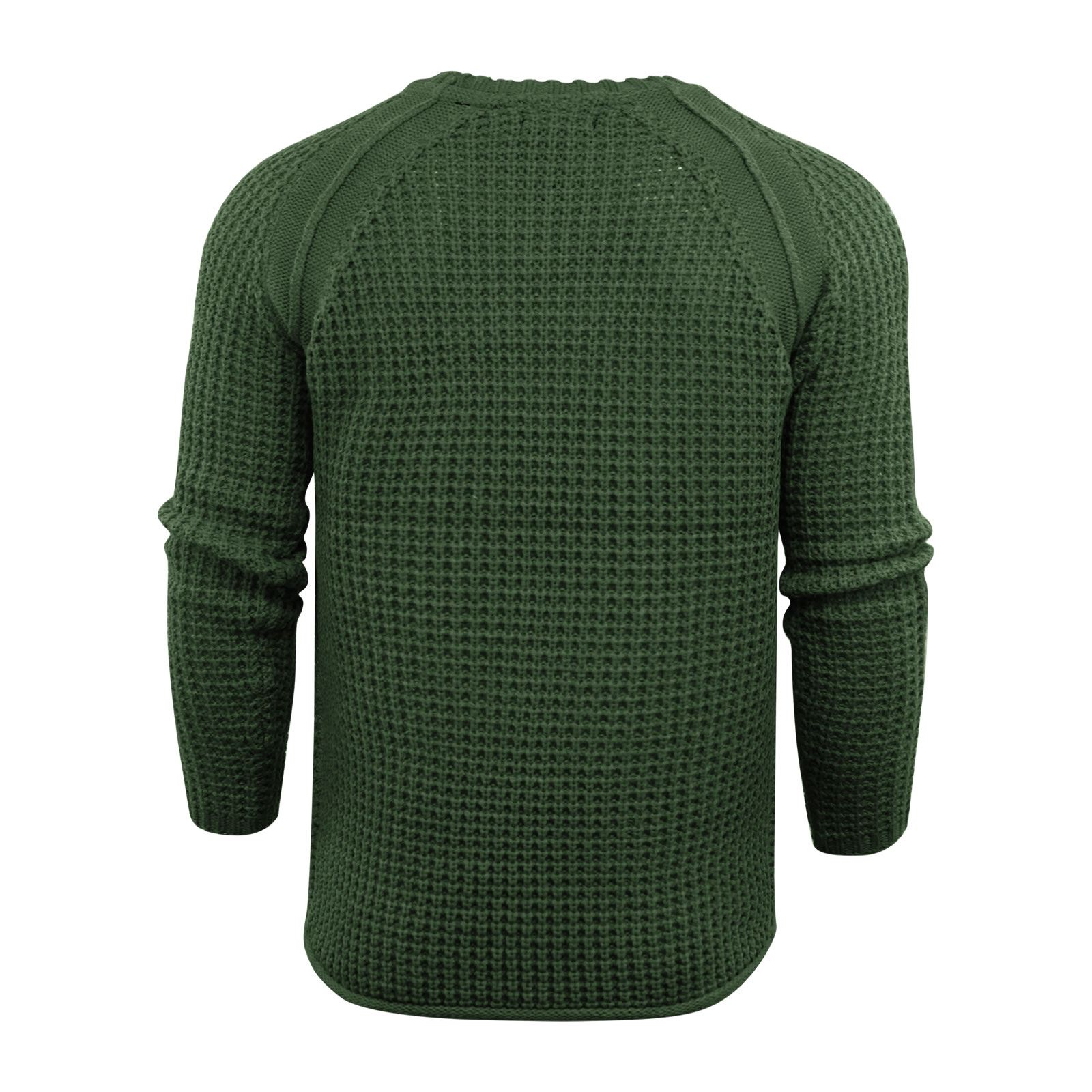 Mens-Jumper-Brave-Soul-Knitted-Sweater-In-Various-Styles thumbnail 101