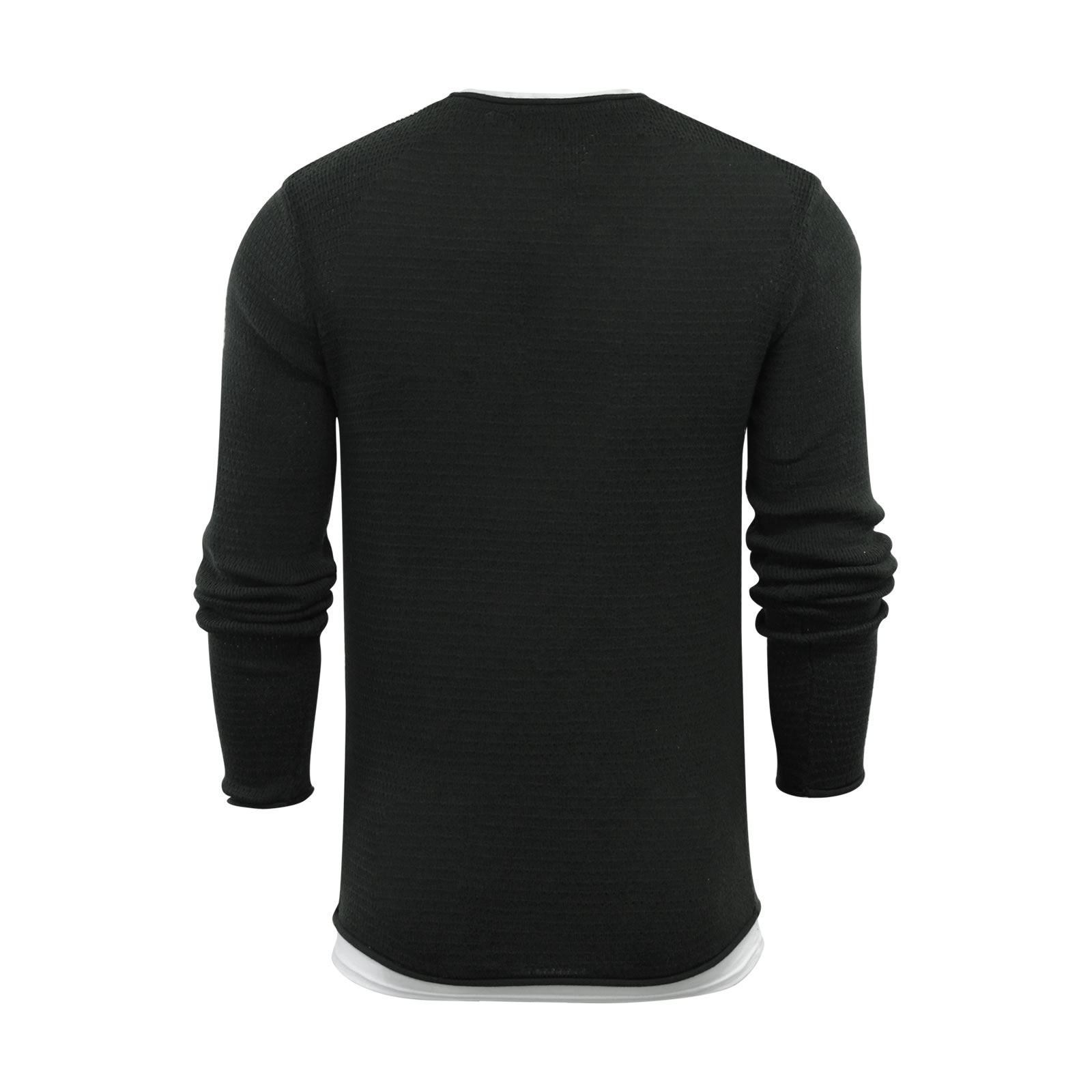 Mens-Jumper-Brave-Soul-Knitted-Sweater-In-Various-Styles thumbnail 51