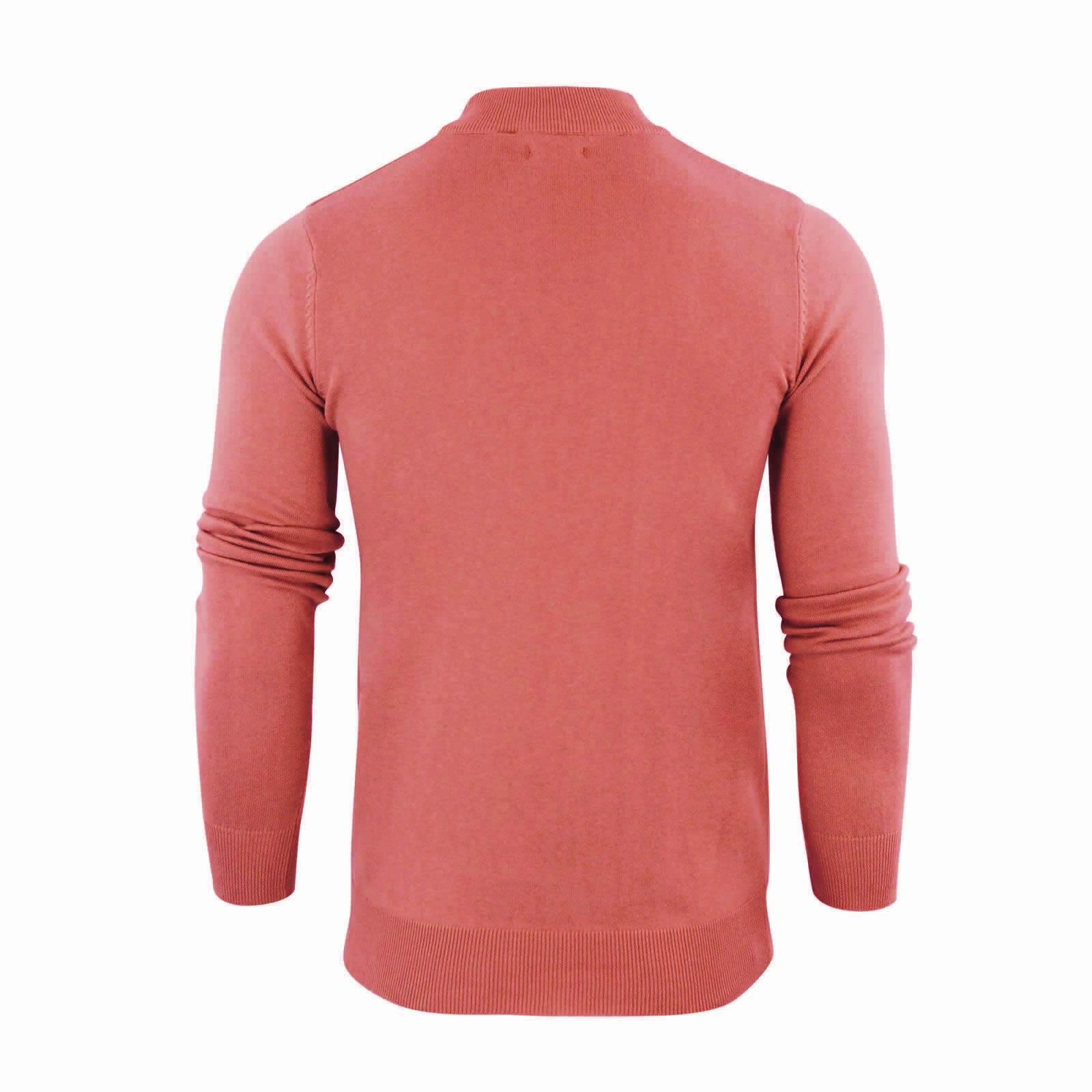Mens-Jumper-Brave-Soul-Turtle-Neck-Cotton-Pull-Over-Sweater thumbnail 32