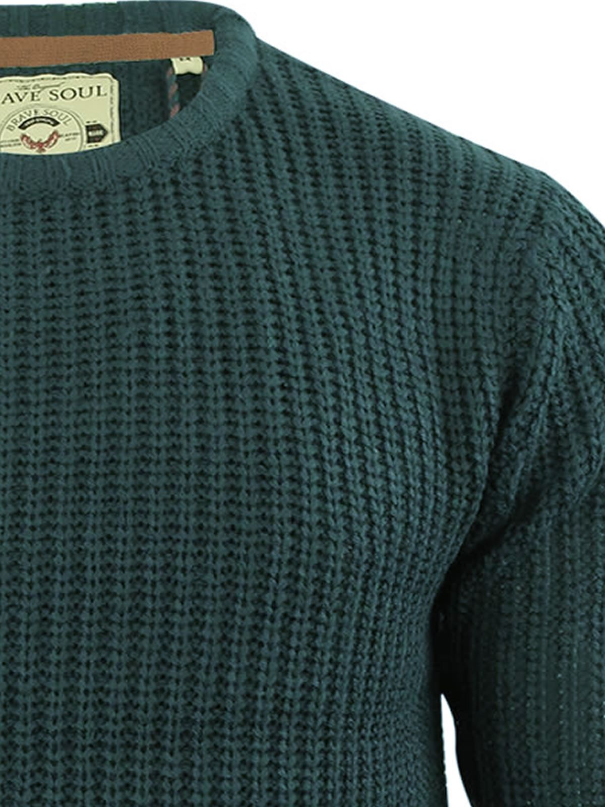 miniature 34 - Pull-Homme-Brave-Soul-Divers-Sweater