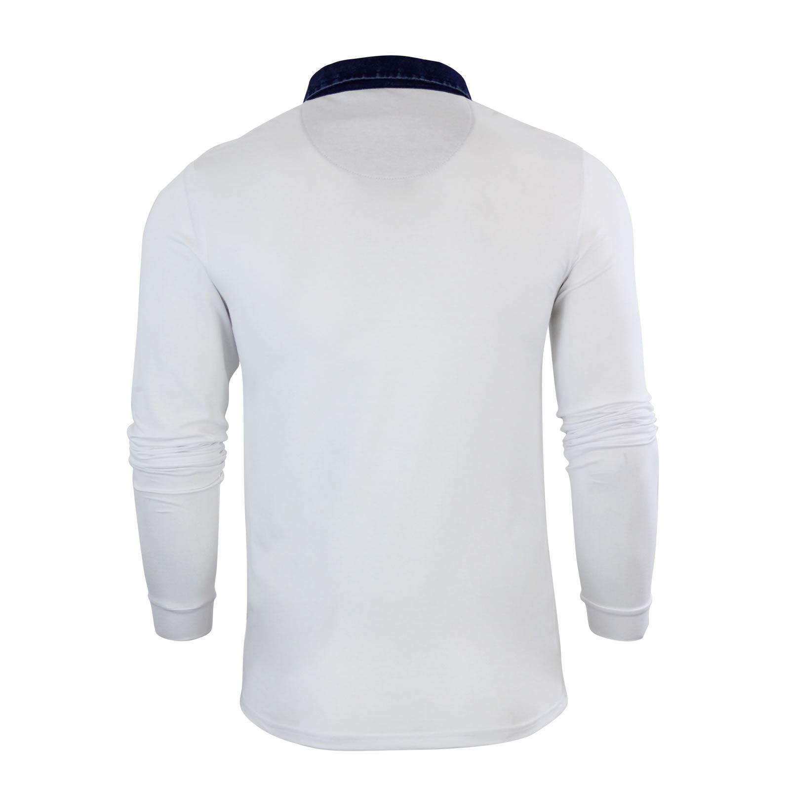 Brave-Soul-Polo-Homme-a-Manches-Longues-A-Col-Haut-Dans-Divers-Styles miniature 105