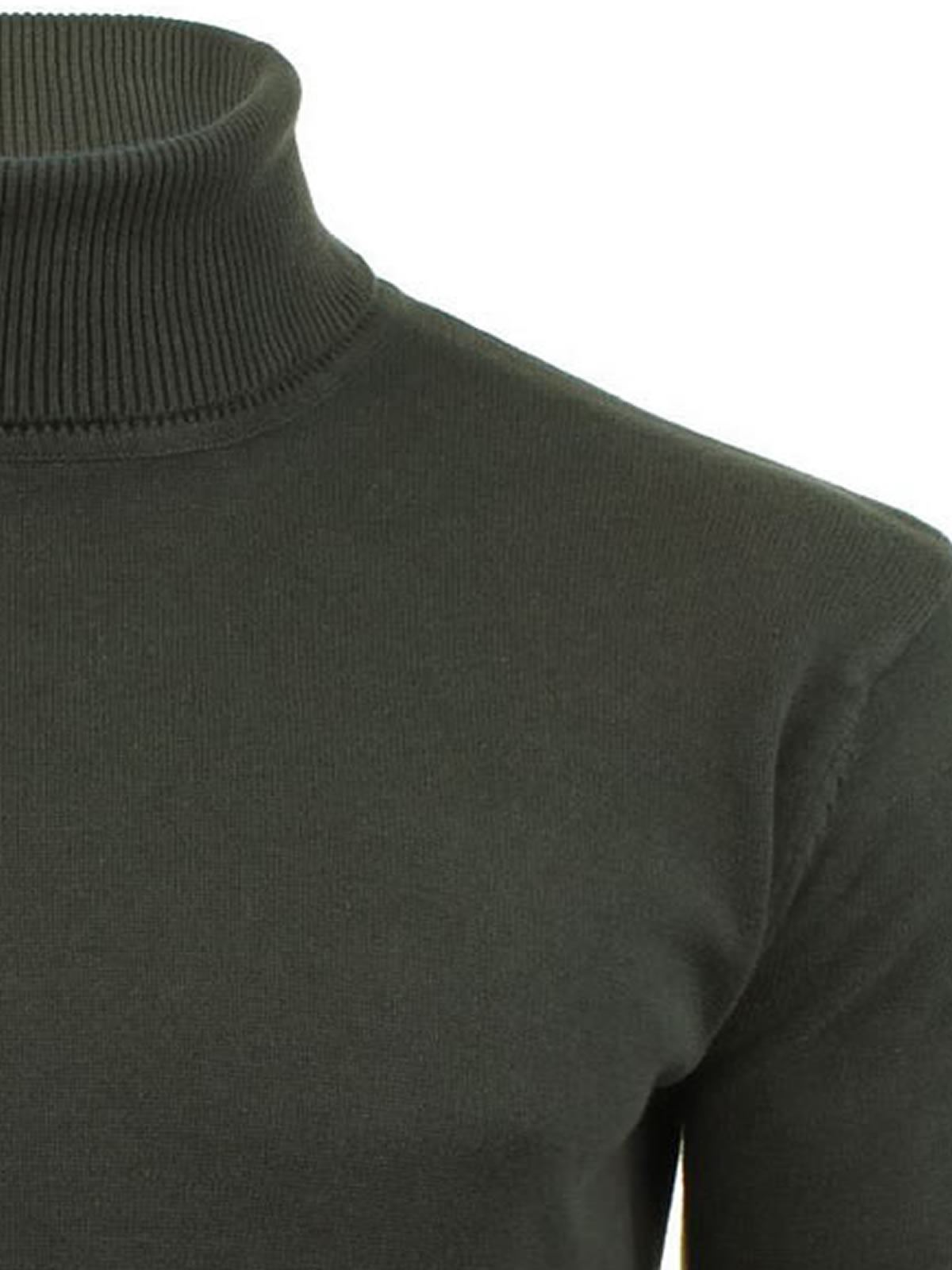Mens-Jumper-Brave-Soul-Roll-Turtle-Neck-Cotton-Pull-Over-Sweater