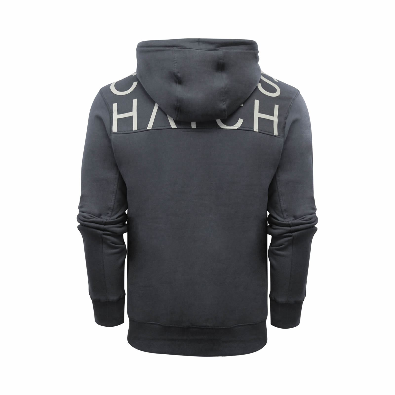 Mens-Hoodie-Crosshatch-Sunbirds-Cotton-Hooded-Pull-Over-Sweater thumbnail 3