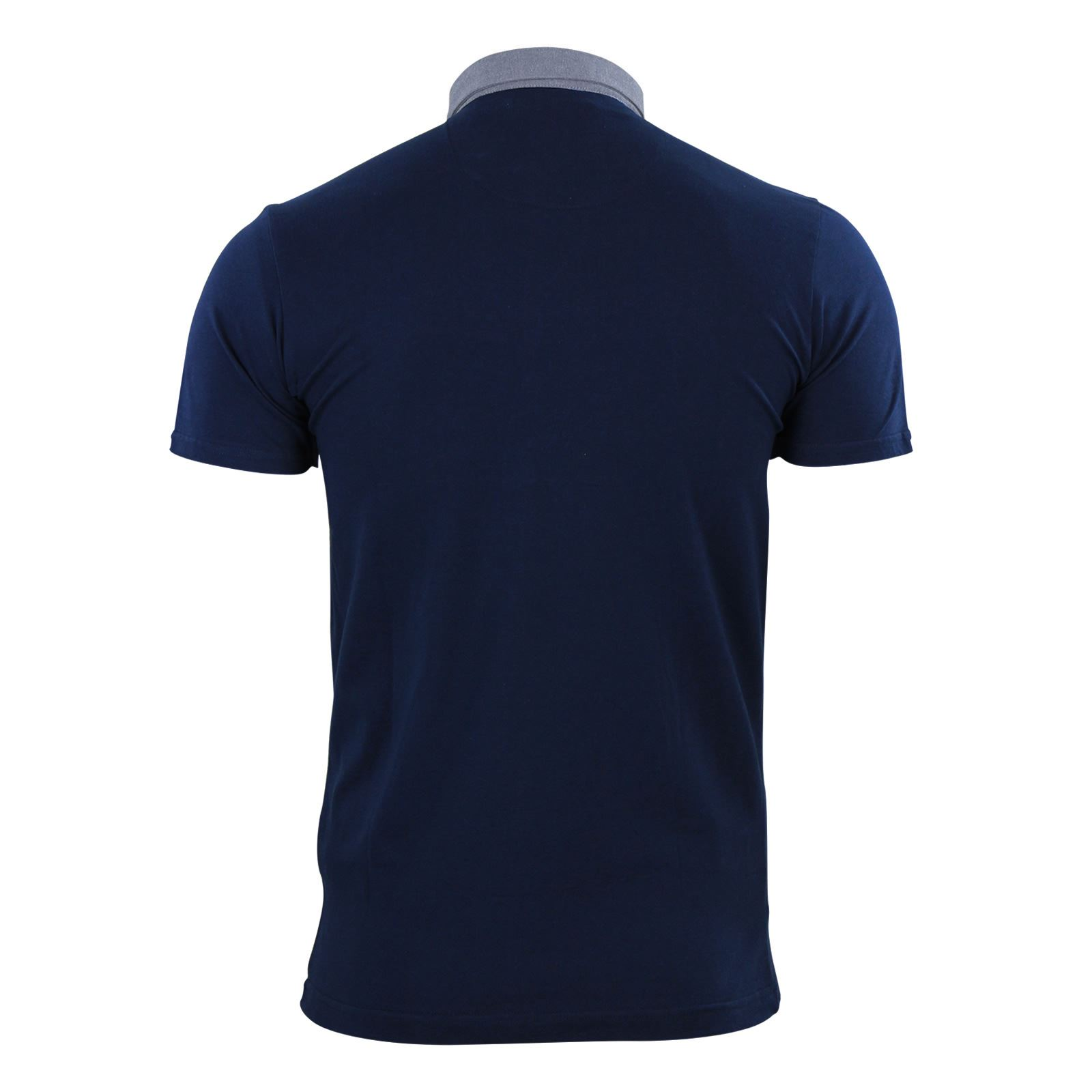 Mens-Polo-T-Shirt-Brave-Soul-Glover-Cotton-Collared-Short-Sleeve-Casual-Top thumbnail 28