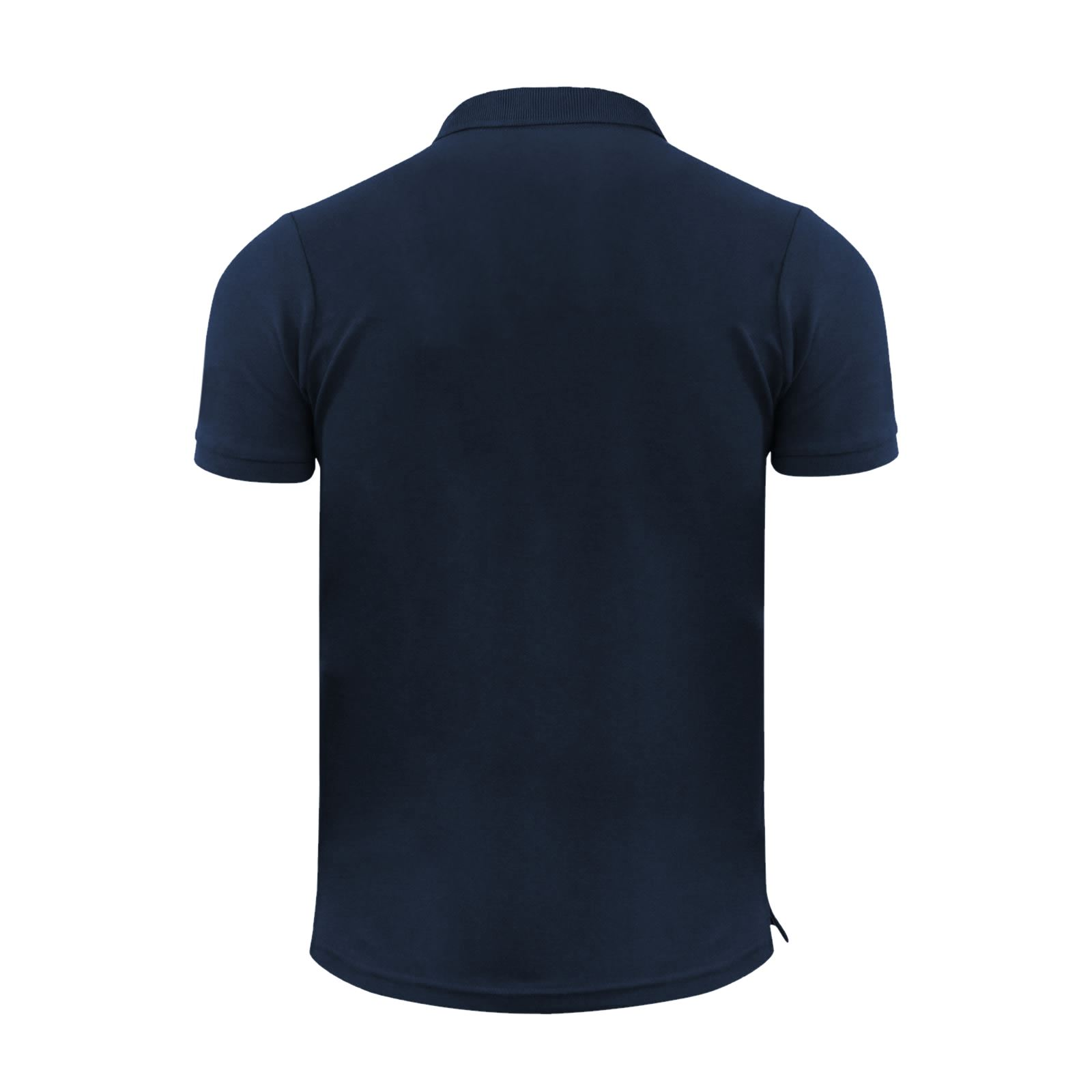 Crosshatch-Mens-Polo-T-Shirt-Pique-Polo-Cotton-Collared-Short-Sleeve-T-Shirt thumbnail 3