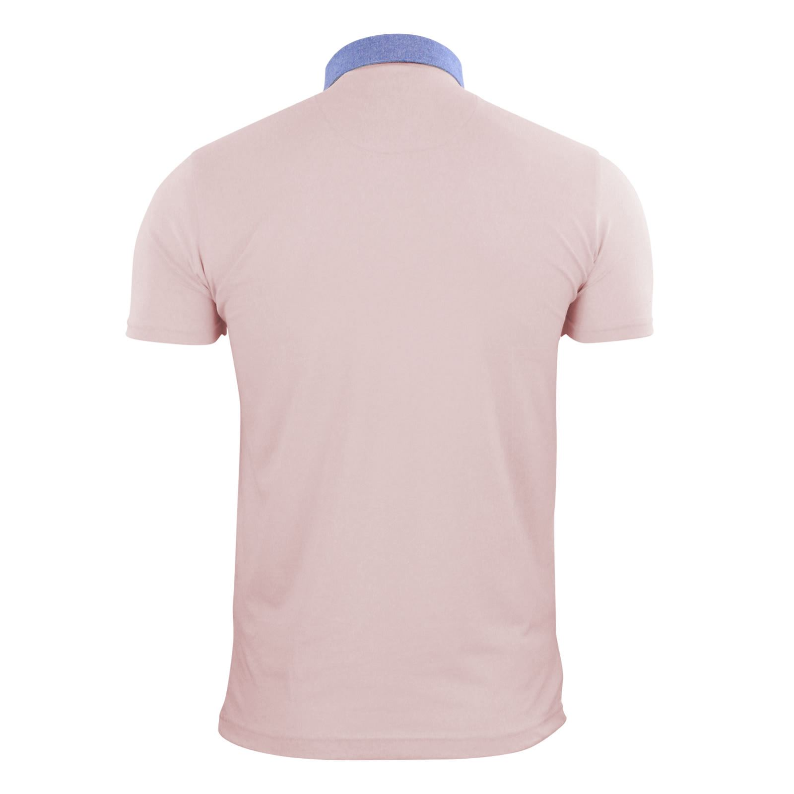 Brave-Soul-Glover-Mens-Polo-T-Shirt-Cotton-Collared-Short-Sleeve-Casual-Top thumbnail 27