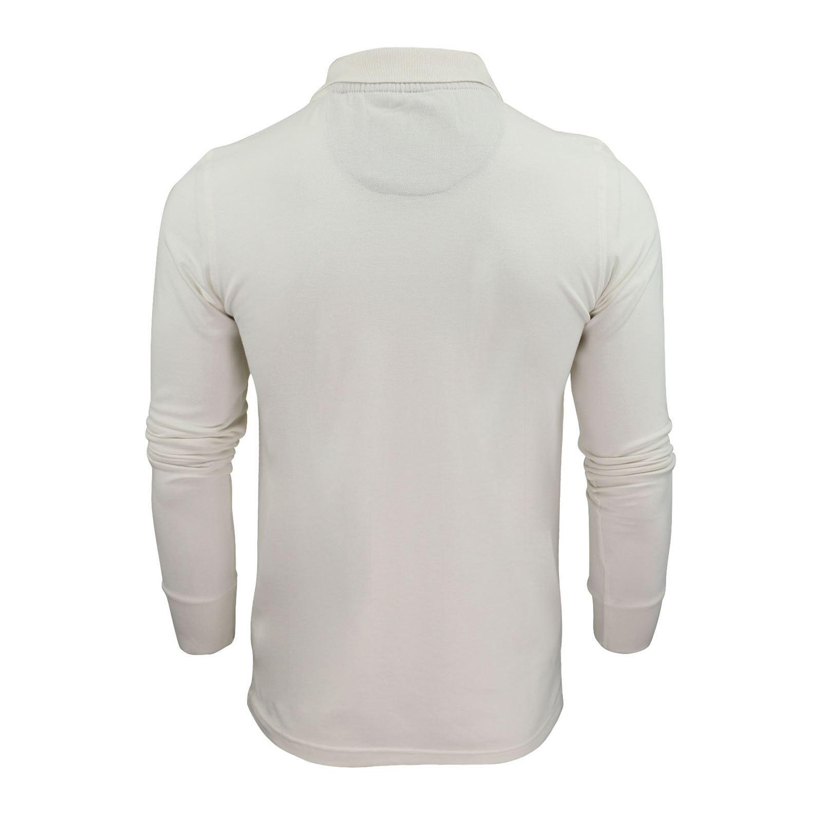 Brave-Soul-Polo-Homme-a-Manches-Longues-A-Col-Haut-Dans-Divers-Styles miniature 49